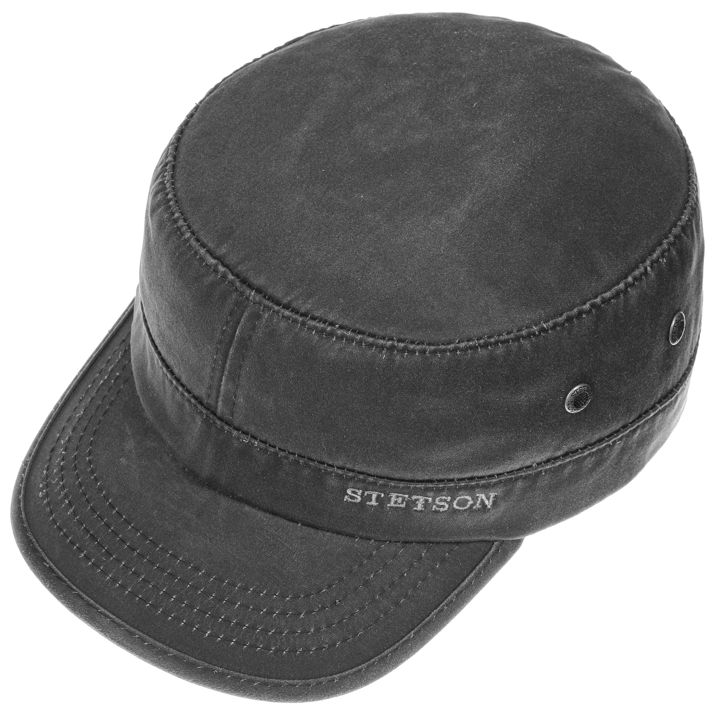 ... Datto Army Cap by Stetson - black 1 ... 29e10ee67c5
