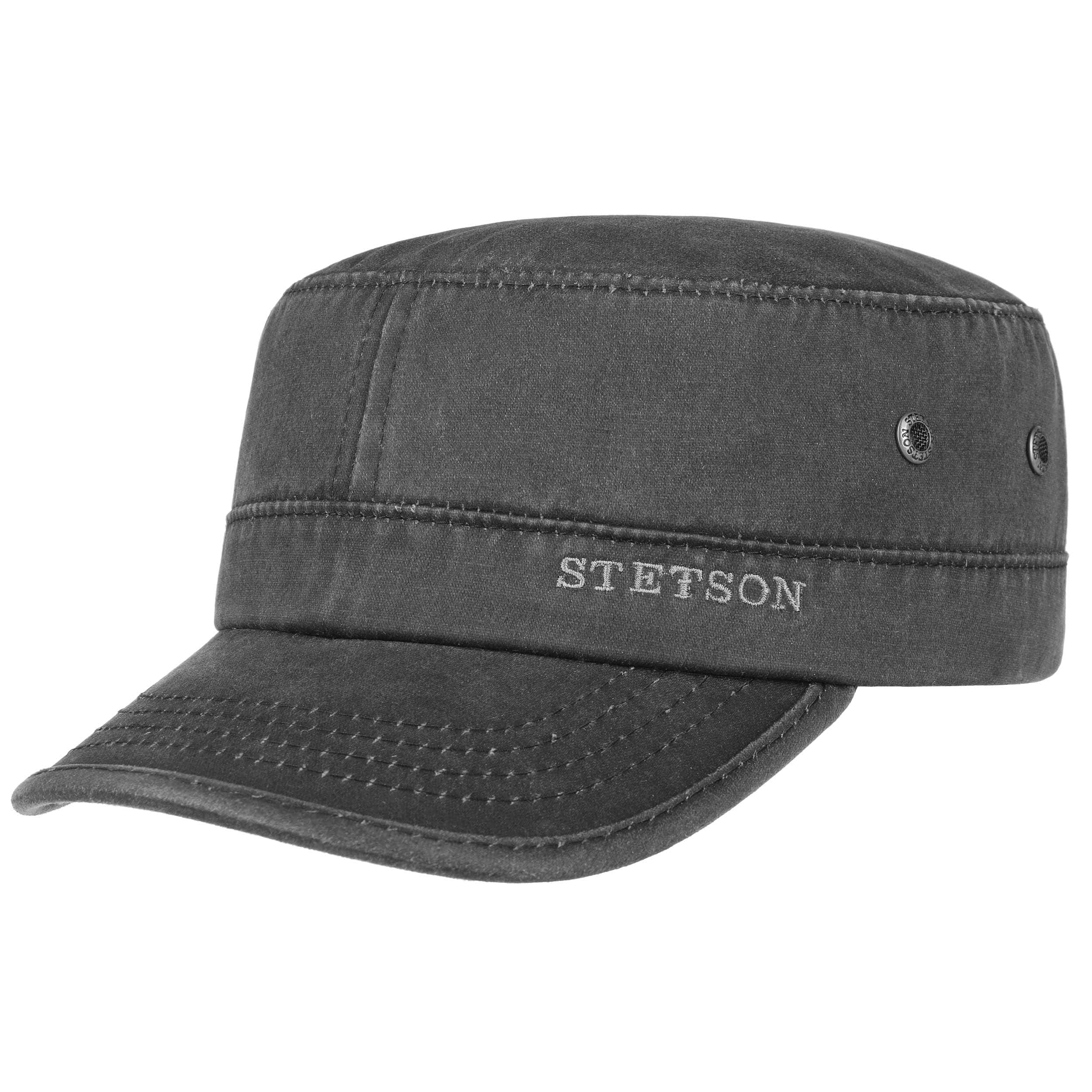 ... Datto Army Cap by Stetson - black 6 a77358efb38