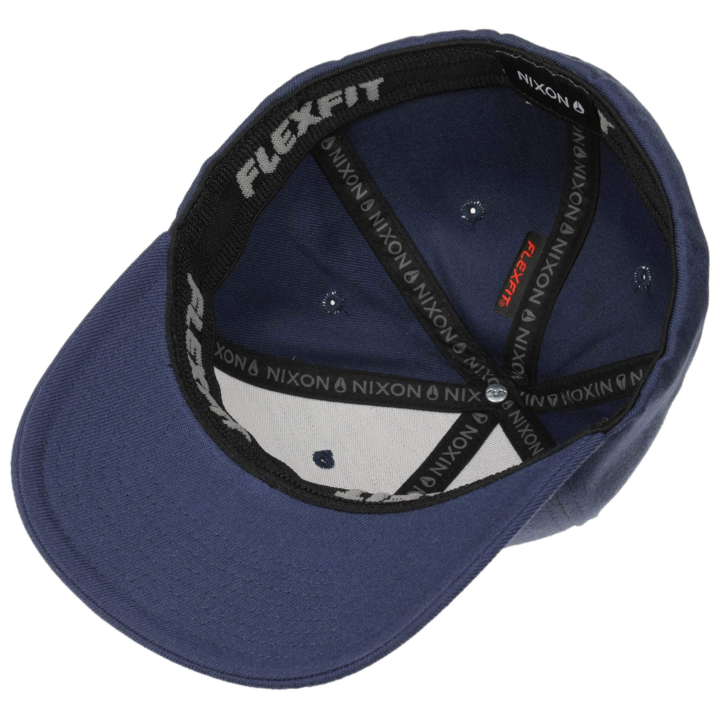 7ee79b391a ... Deep Down Flexfit Cap by Nixon - blue-beige 2 ...