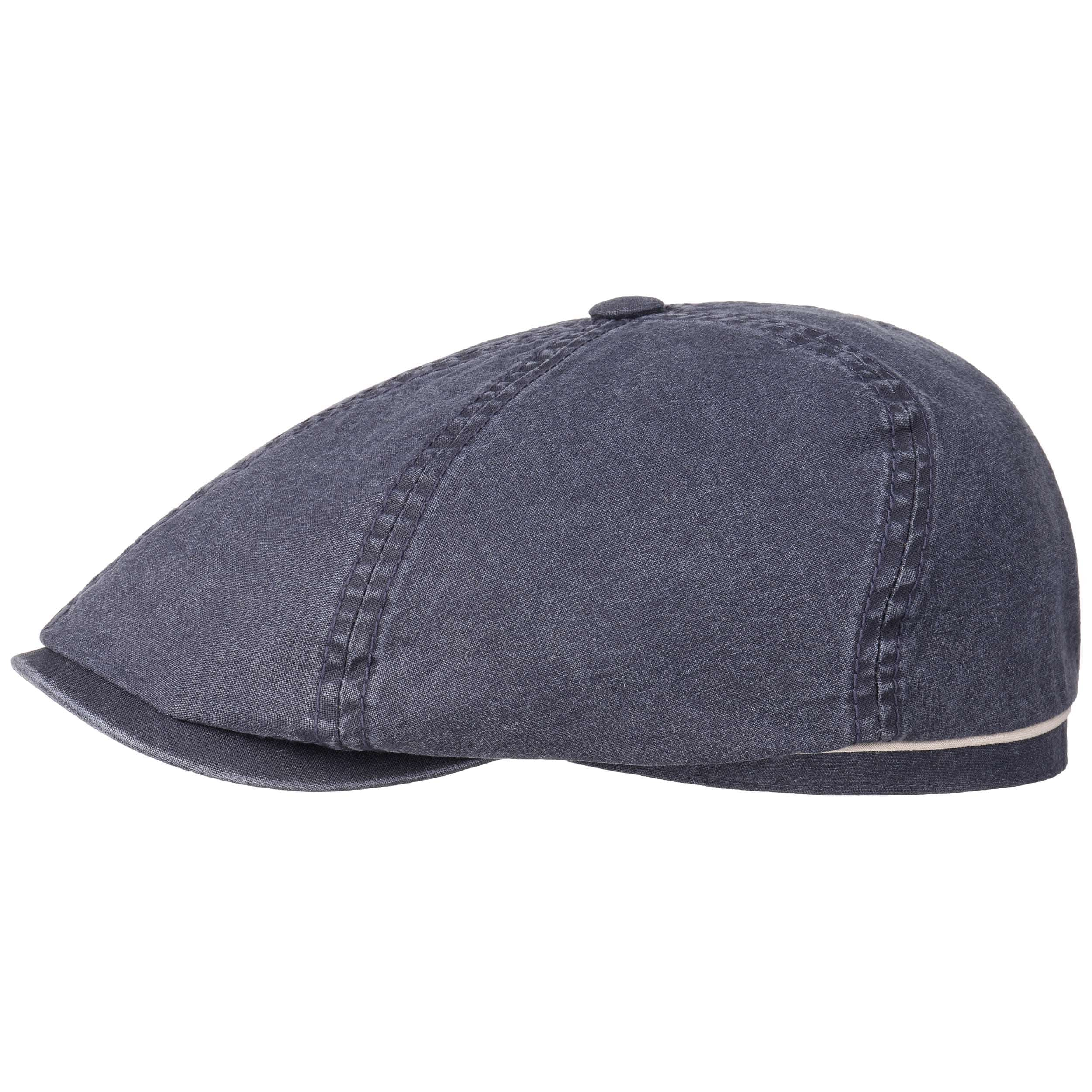 Delave Organic Cotton Flat Cap by Stetson 869388b3f11