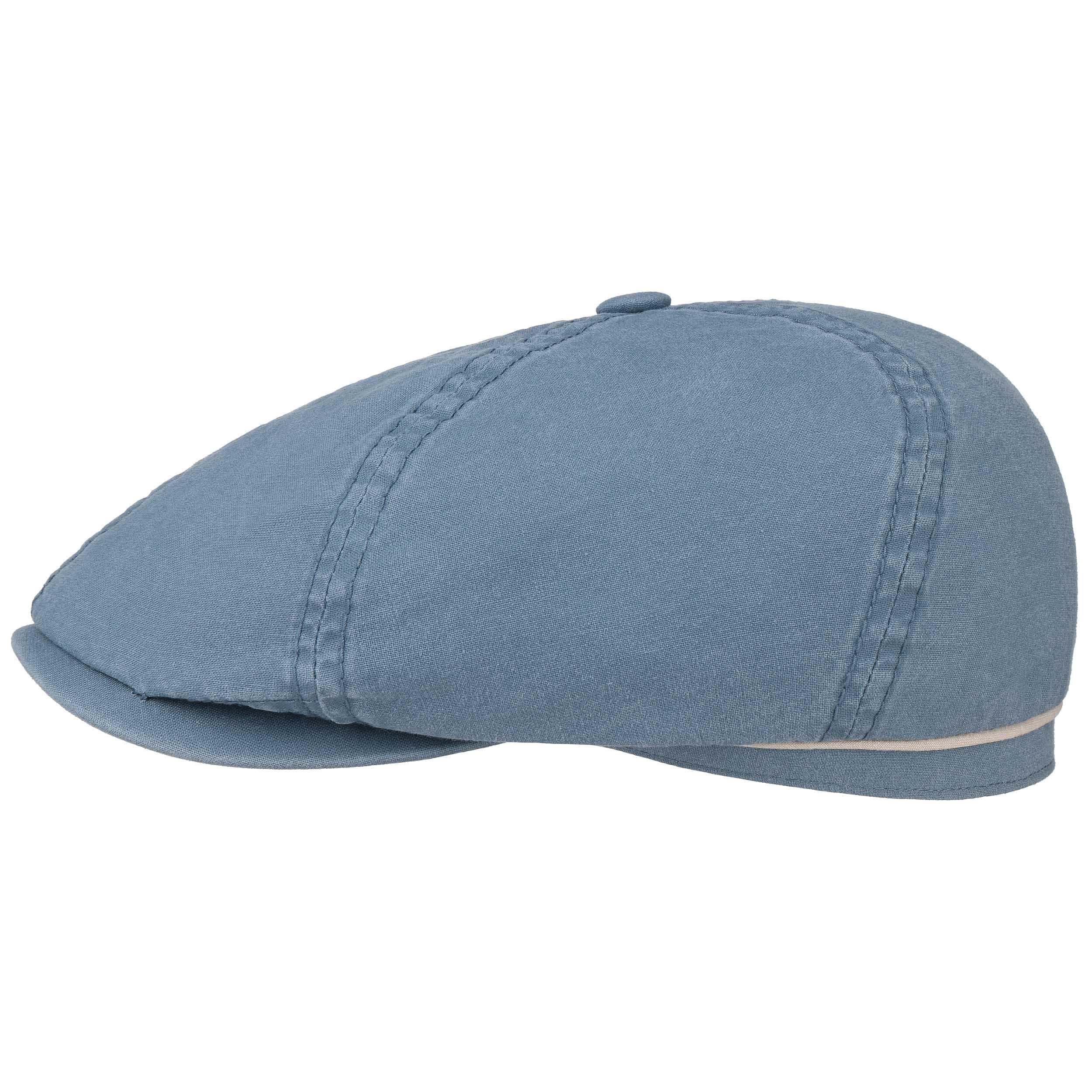 97afd773 ... dark beige 5 · Delave Organic Cotton Flat Cap by Stetson - light blue 5