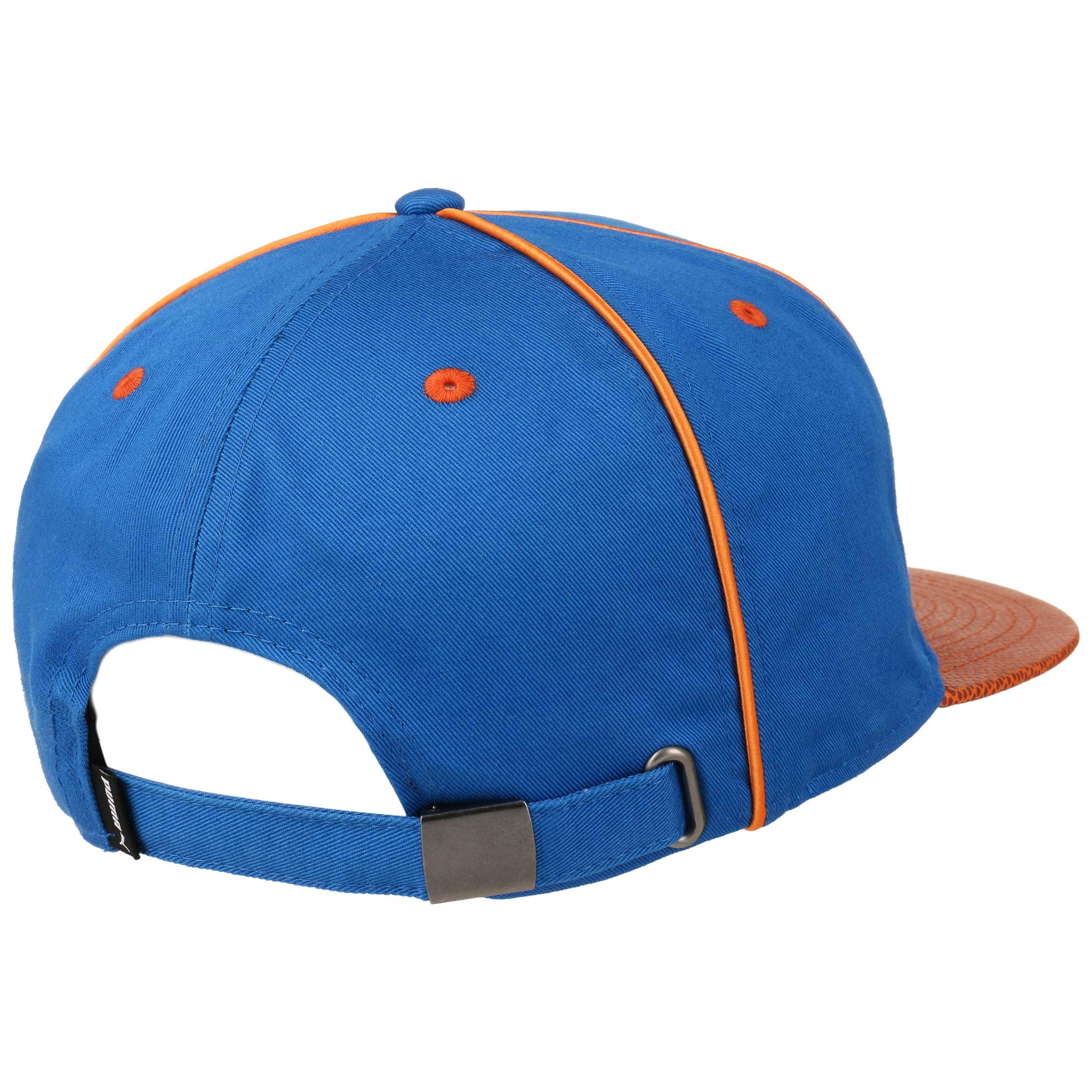 5c8dab3839a ... discount deluxe strapback cap by puma royal blue 3 94daf 89a58