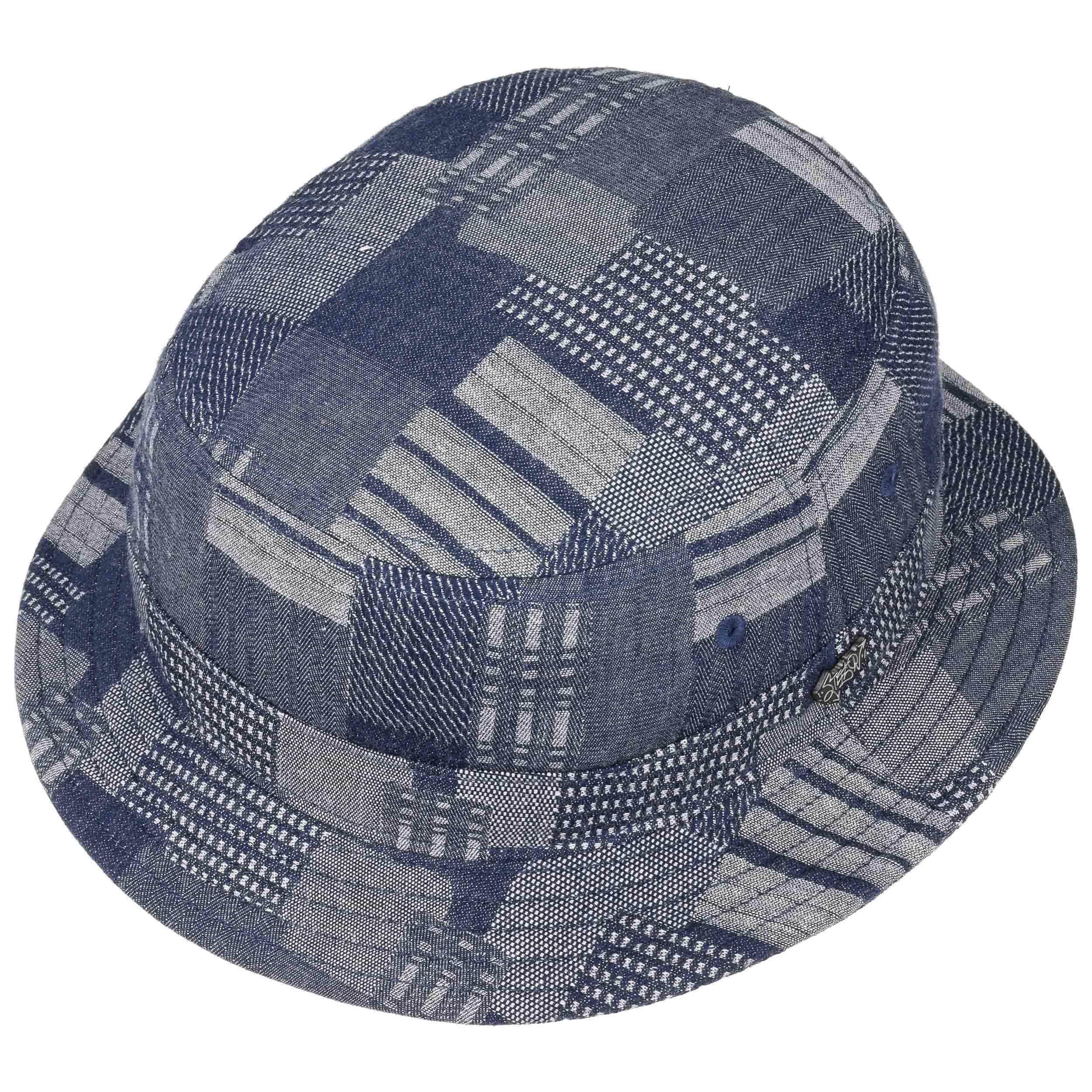 9f74dfc634f Denim Patchwork Bucket Hat by Stetson - denim 1 ...