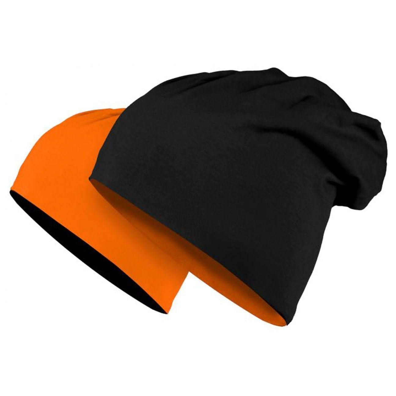 d99c32d98cc ... Denver Reversible Jersey Beanie - orange 1 ...
