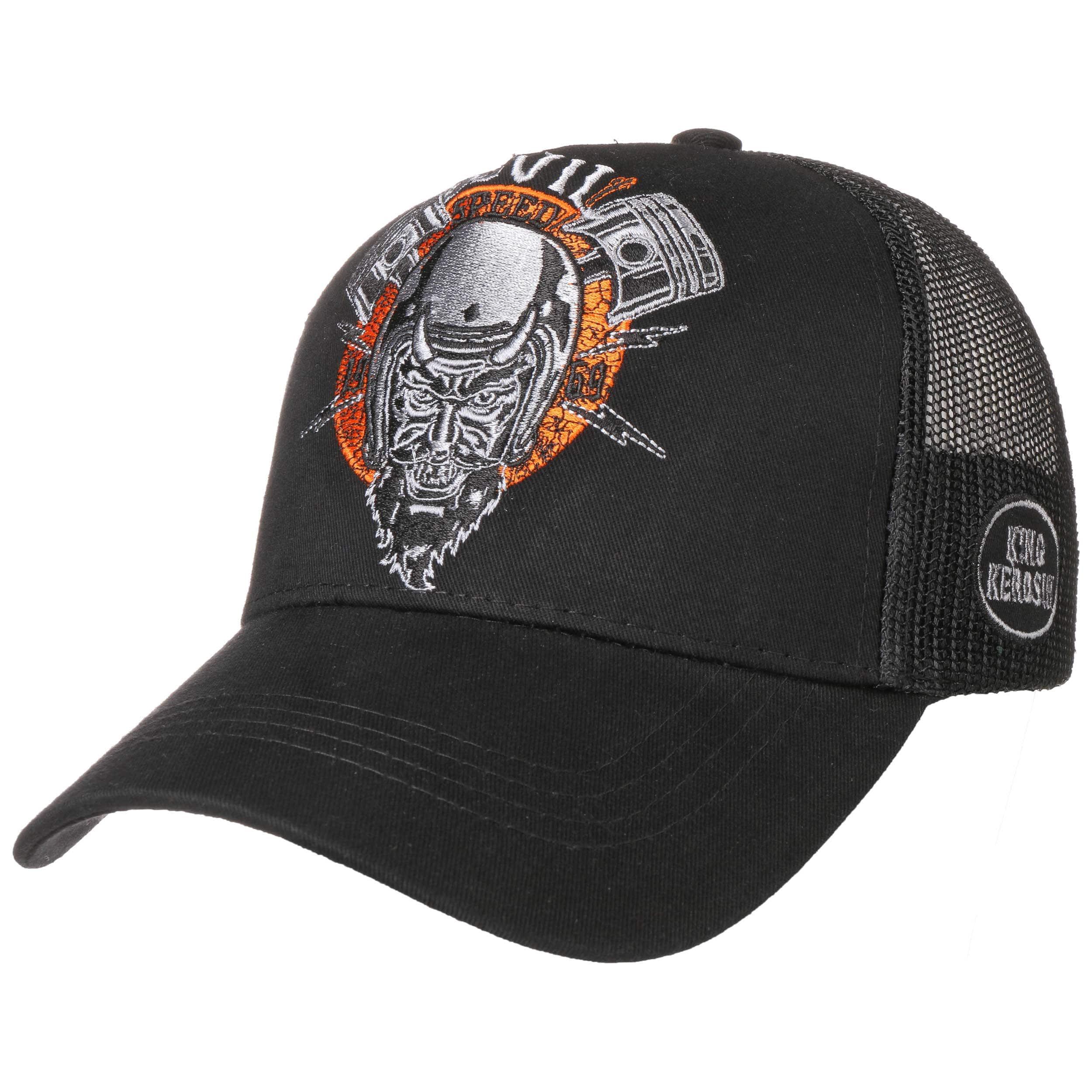 Devil Speed Trucker Cap By King Kerosin 33 95
