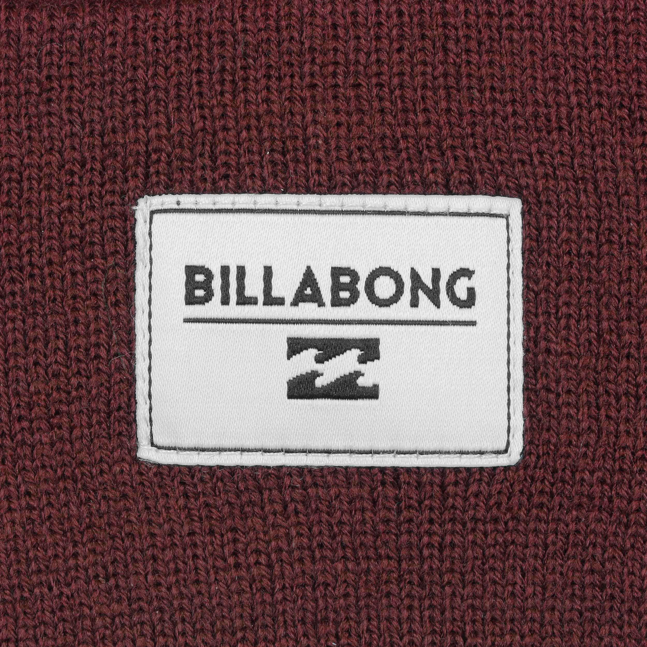 4c84d21affcd4f ... Disaster Beanie by Billabong - bordeaux 2 ...