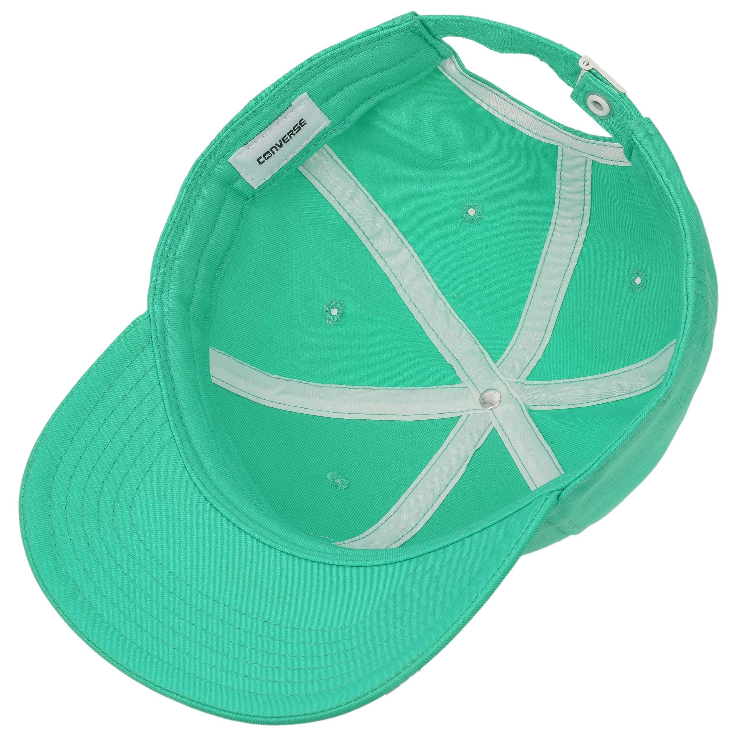 2d56387d84c ... Dry Short Visor Strapback Cap by Converse - mint green 2 ...