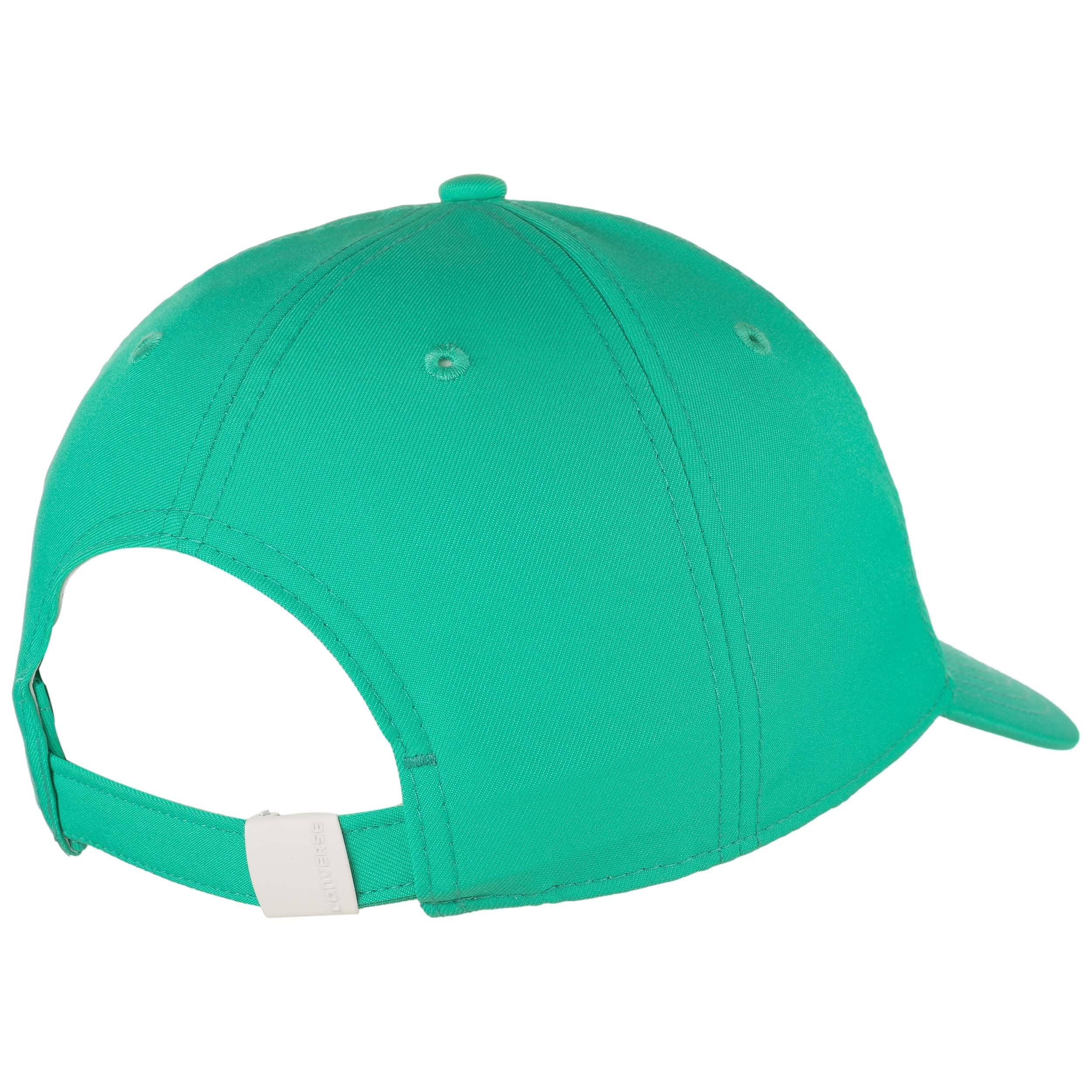 4b5f6af859a ... Dry Short Visor Strapback Cap by Converse - mint green 3 ...