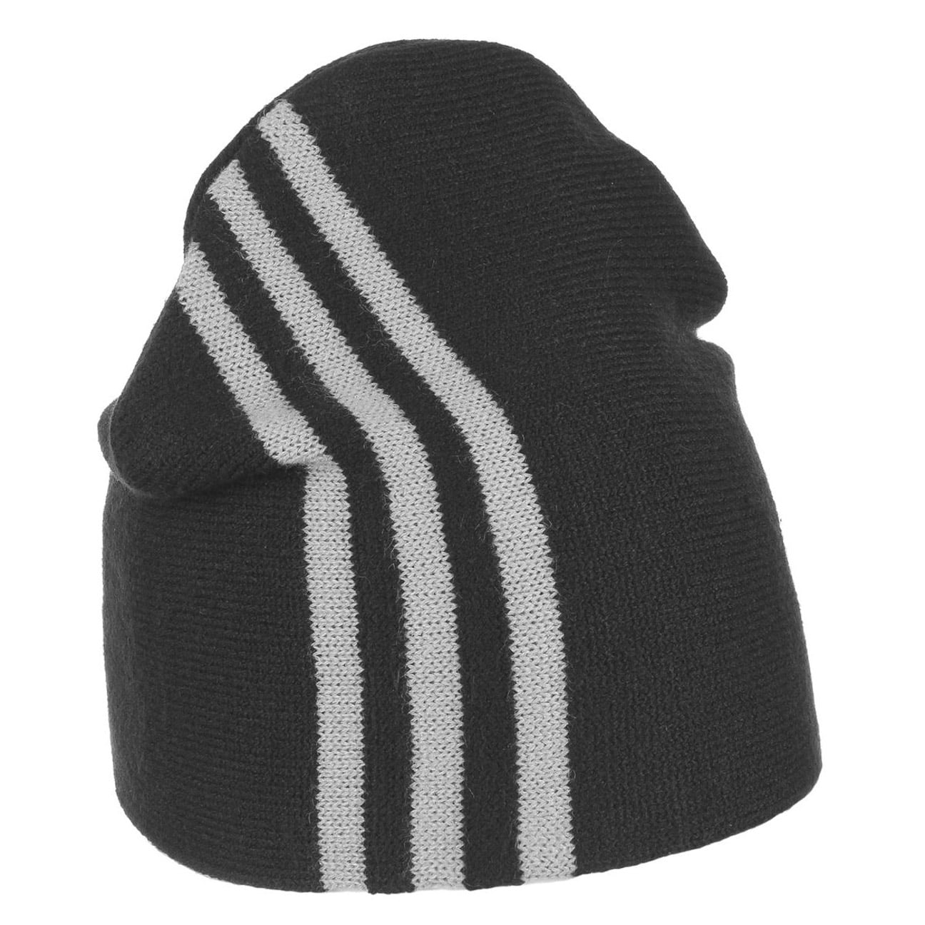 81997f4d ... ESS 3 Stripes Beanie 3 by adidas - black 1