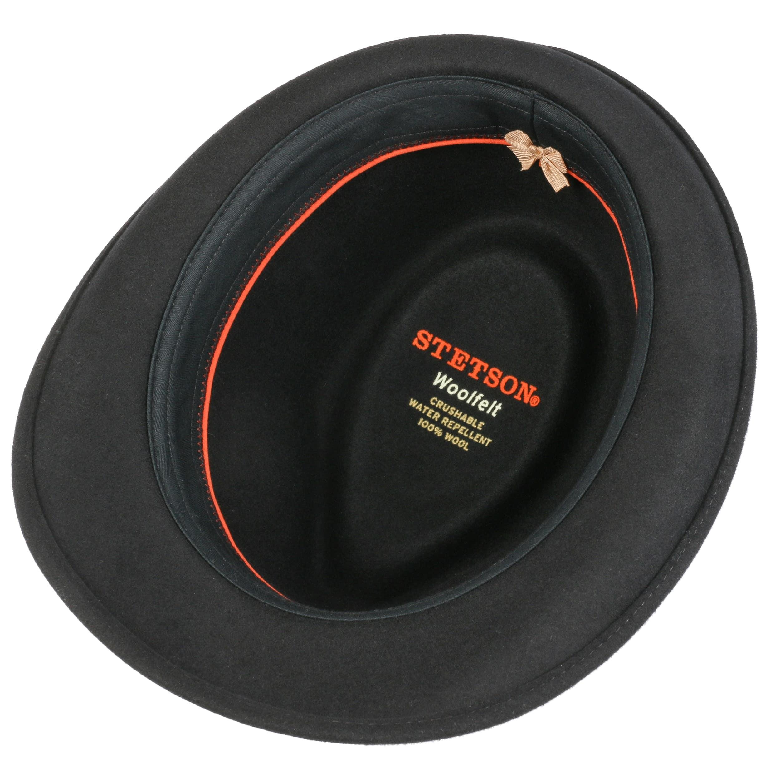 Stetson Hats Elkader Trilby Black