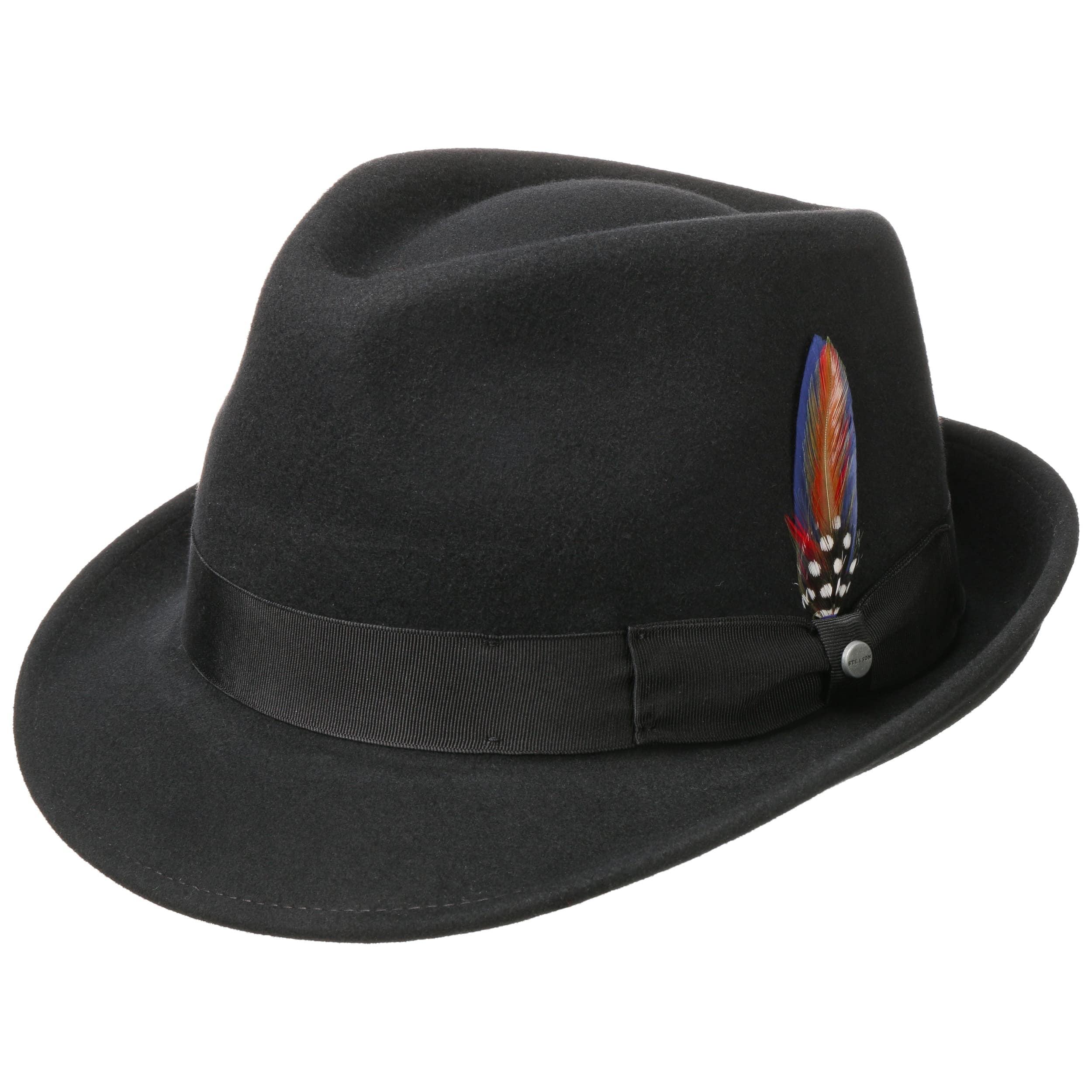 Elkader Trilby Felt Hat by Stetson 34f0a224b64