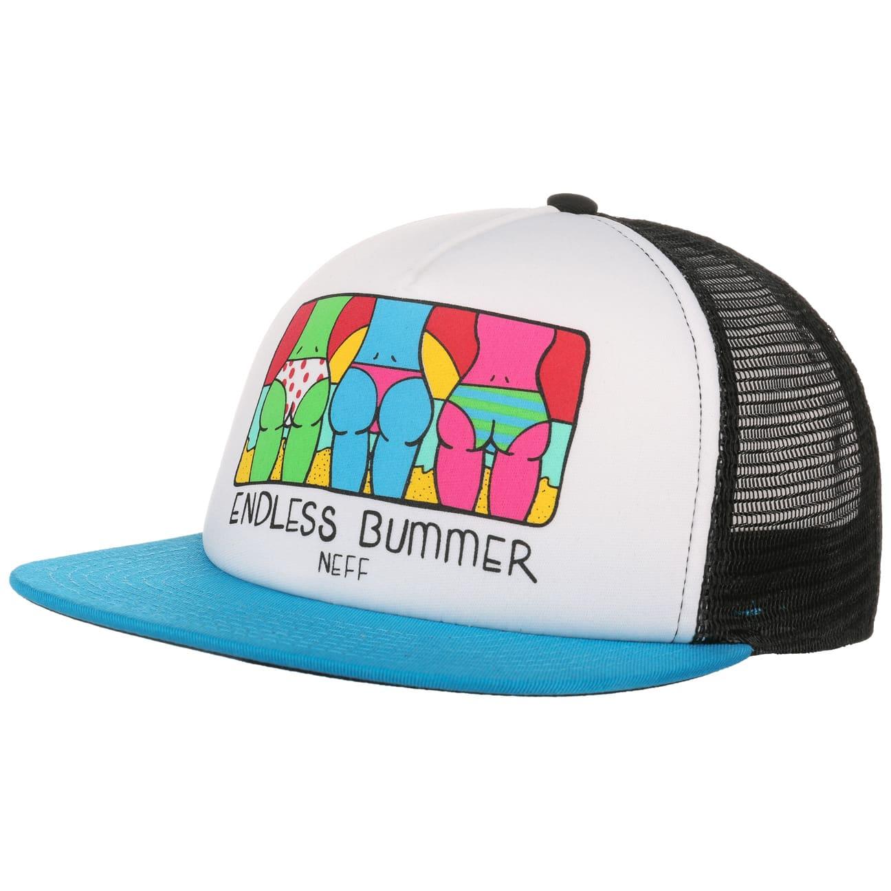 endless bummer trucker cap by neff eur 24 90 hats caps beanies shop online. Black Bedroom Furniture Sets. Home Design Ideas