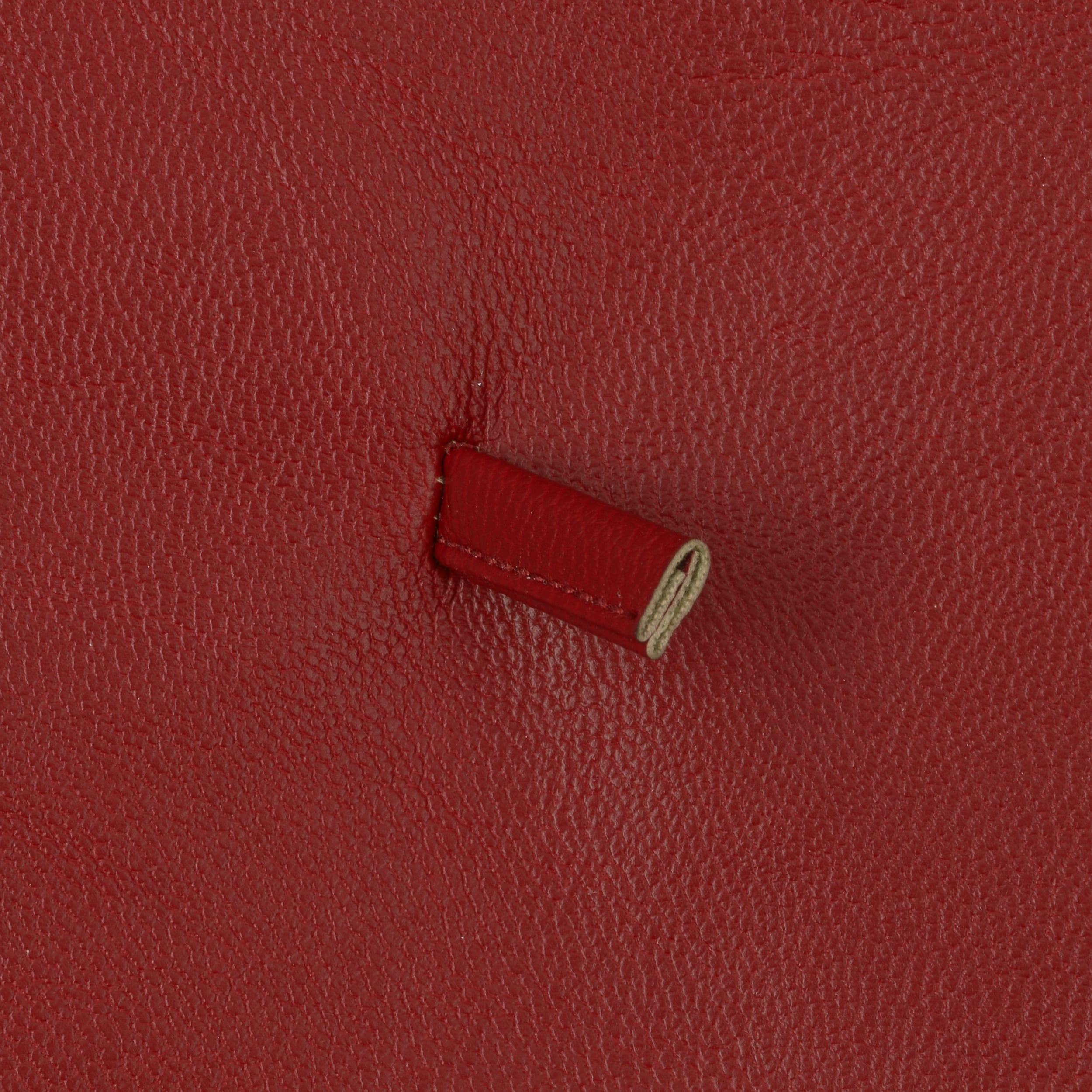 7d67aa2883572 ... Faux Leather Beret by Lipodo - bordeaux 3 ...