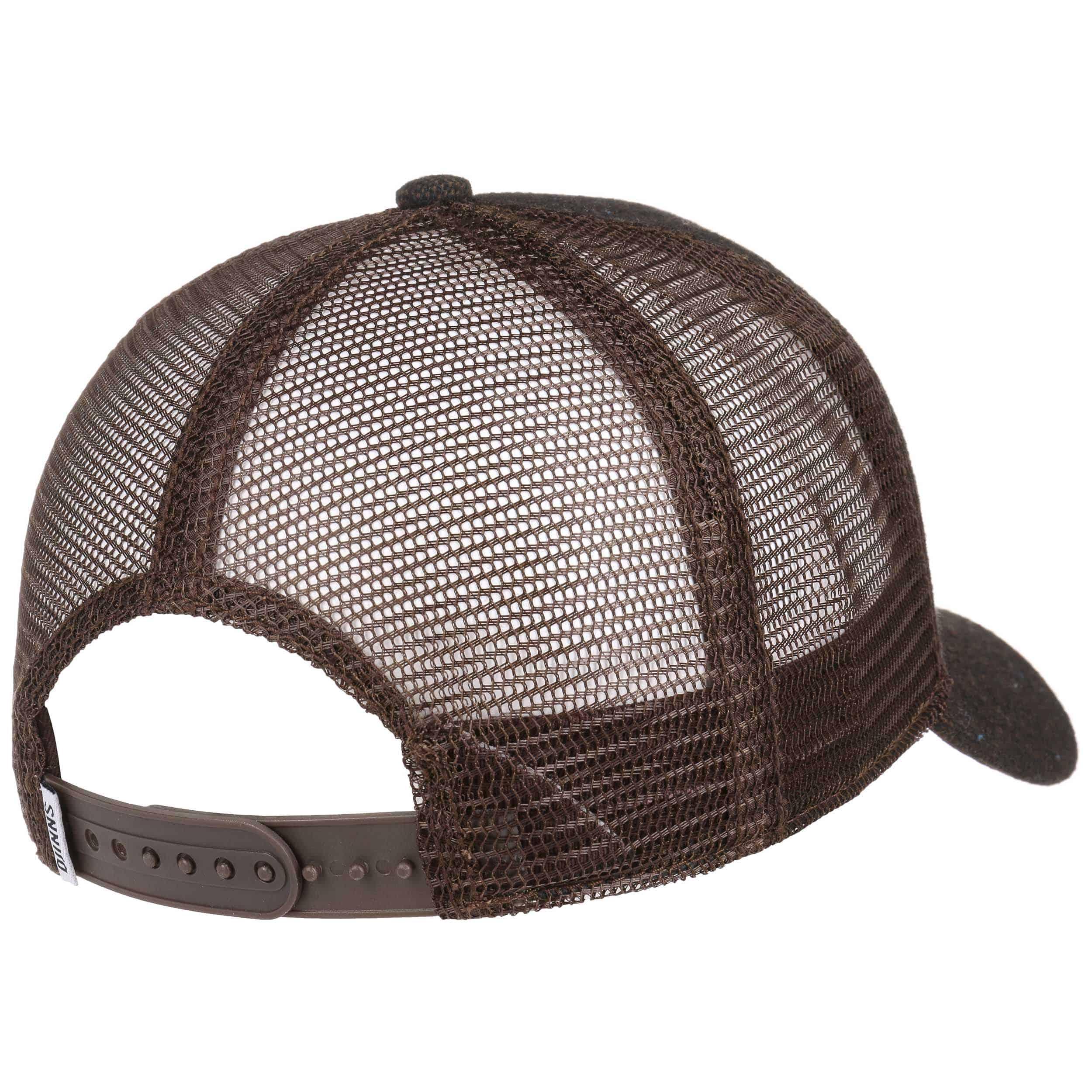 felt rubber hft trucker cap by djinns eur 24 99 hats. Black Bedroom Furniture Sets. Home Design Ideas