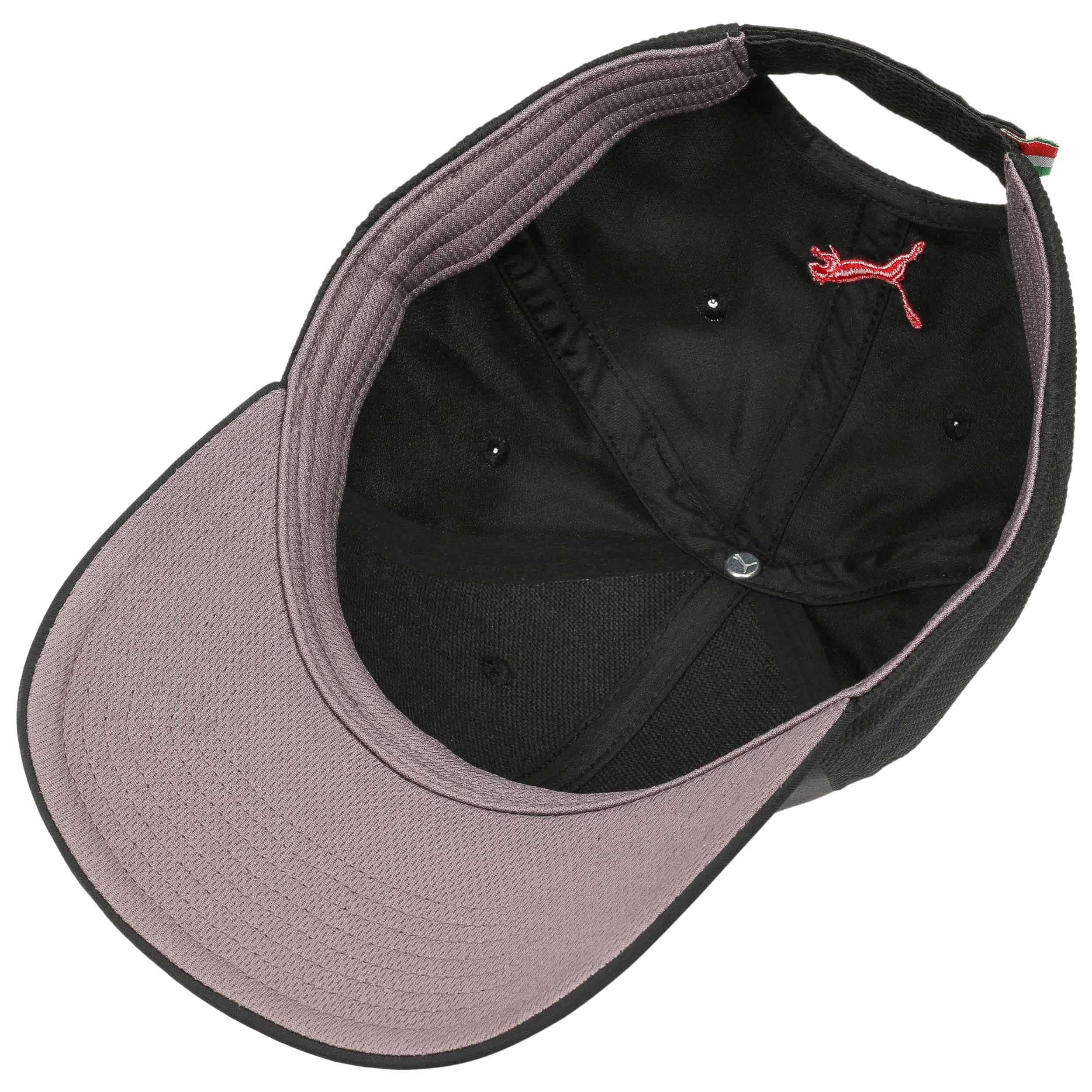 7bed87967a6940 ... Ferrari Fanwear Strapback Cap by PUMA - schwarz 2 ...