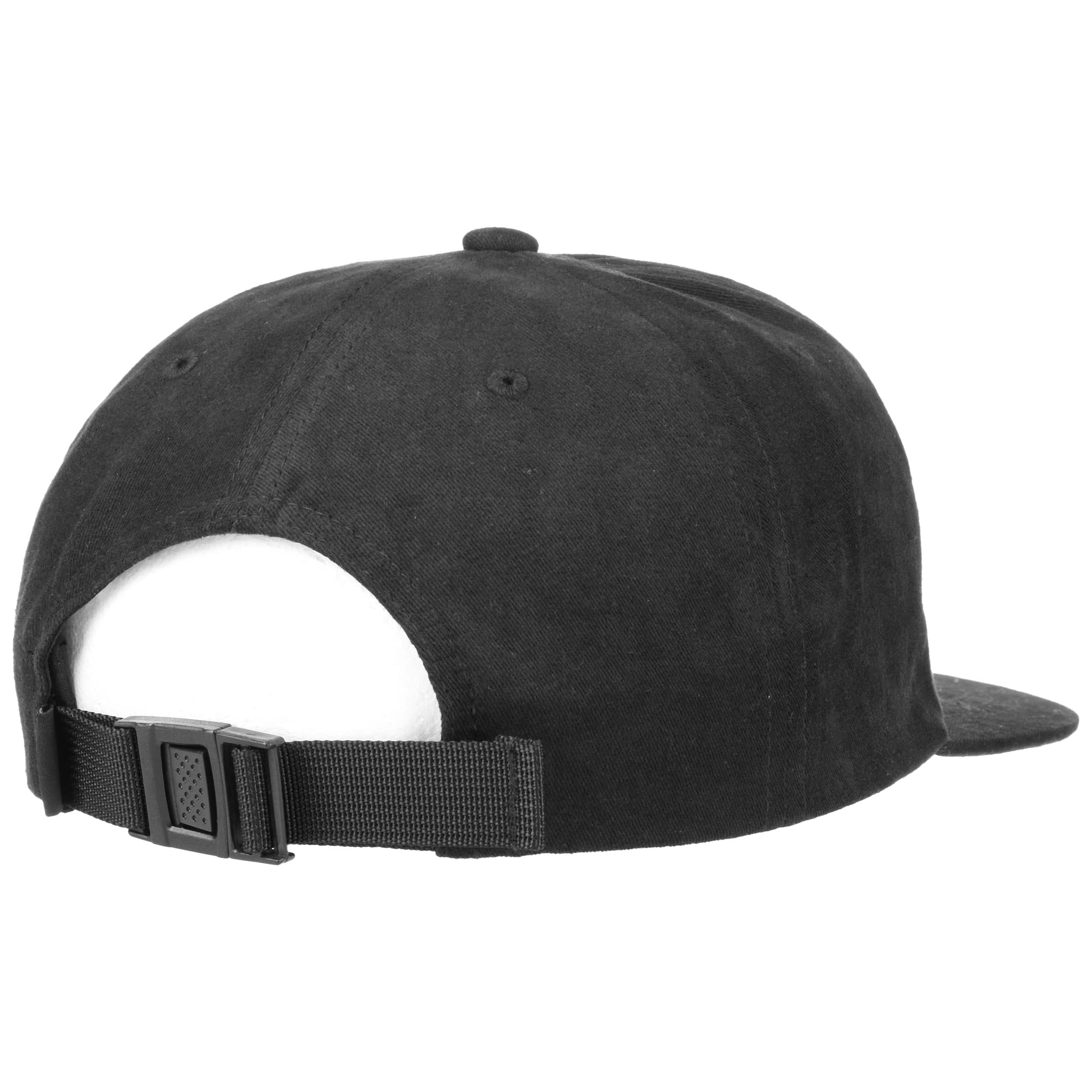 0e31c7ea70cad ... Flat 6 Panel Strapback Cap by Reell - olive 4 ...