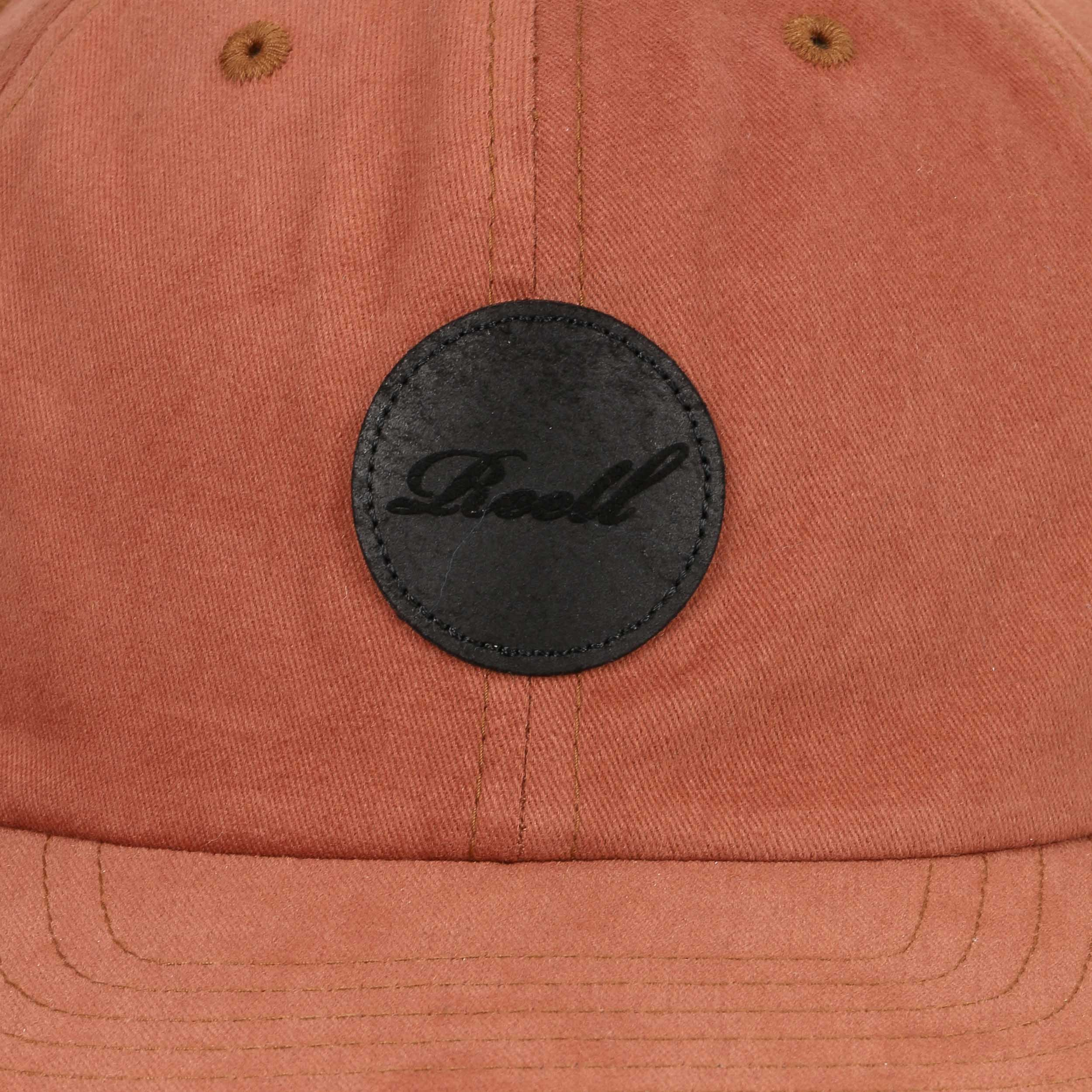 c632f327abed7 ... Flat 6 Panel Strapback Cap by Reell - oldrose 4 ...