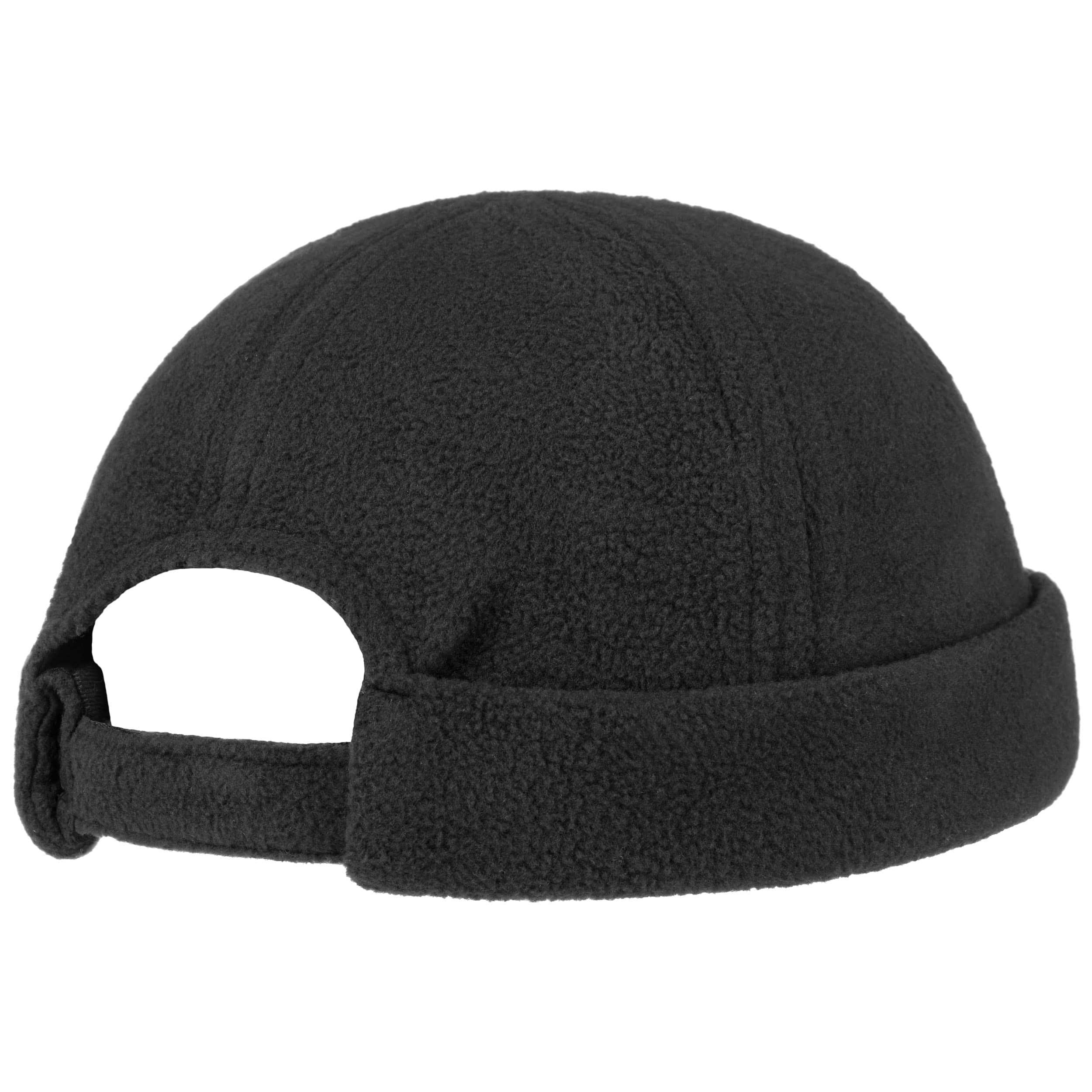 ... Fleece Docker Hat by Lipodo - black 3 ... 948cb1be24d