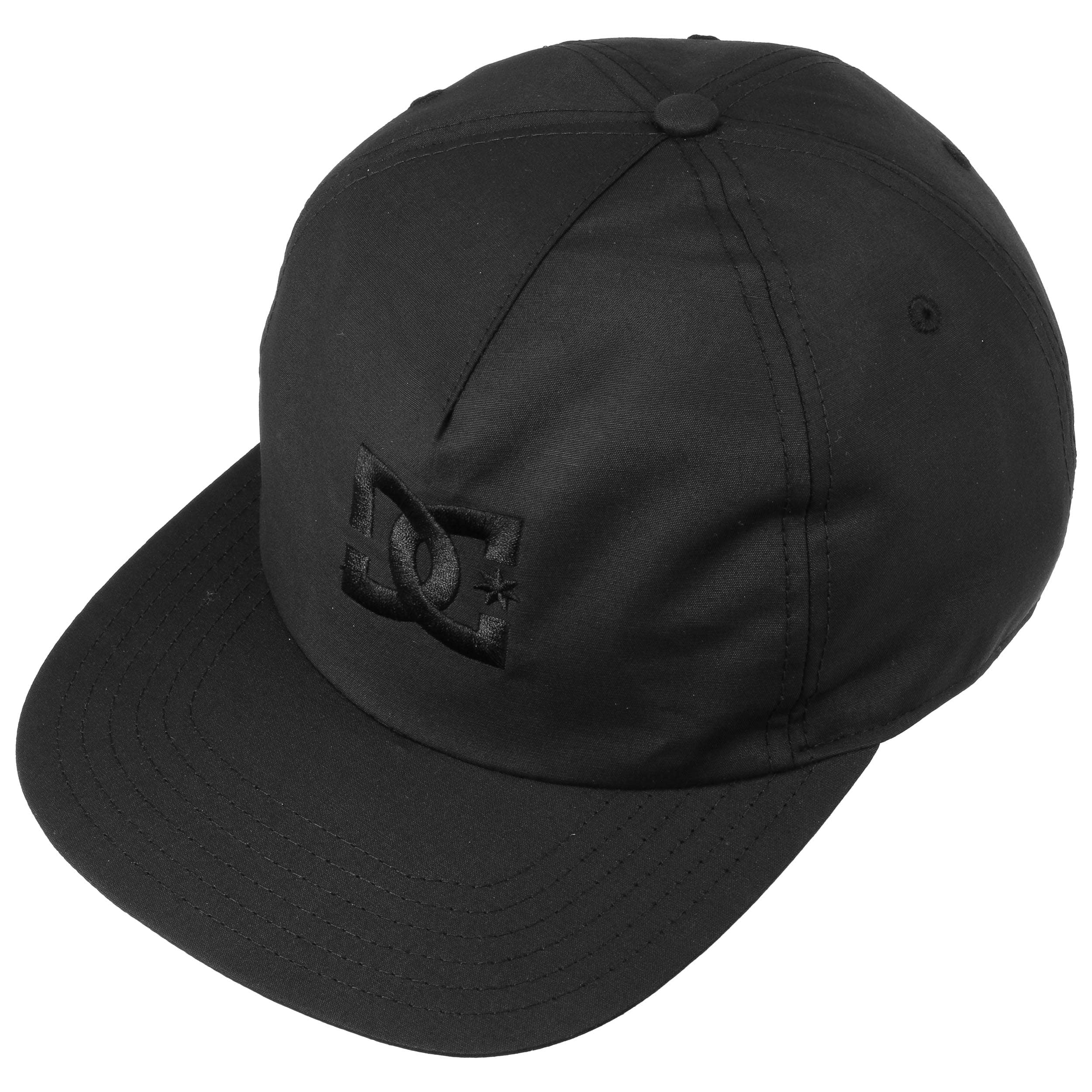 5bce6d0b0a9 ... Floora Flat Brim Cap by DC Shoes Co - black 1 ...