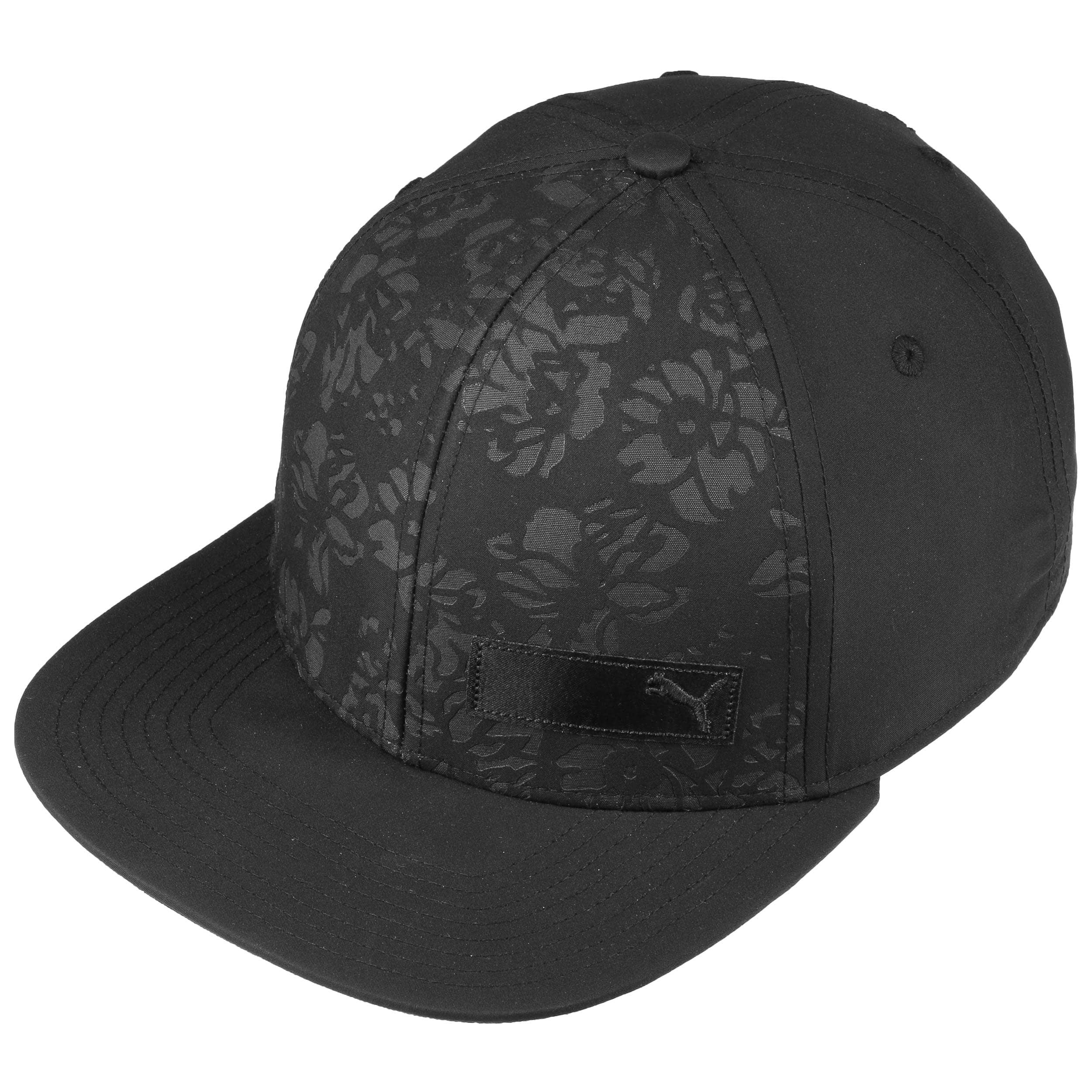 newest 61756 bdafc Floral Flat Brim Women´s Cap by PUMA - black 1 ...
