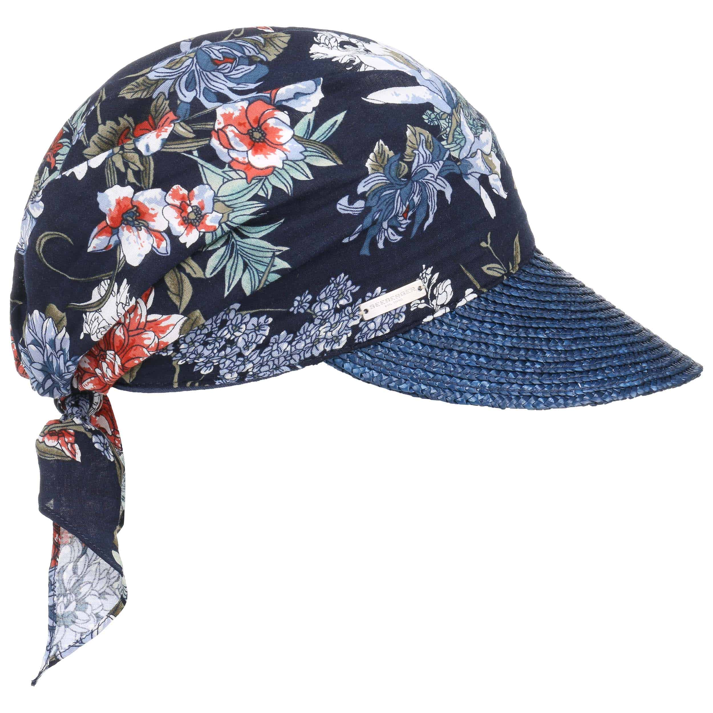Flower High Uv Bandana Cap By Seeberger Eur 39 95