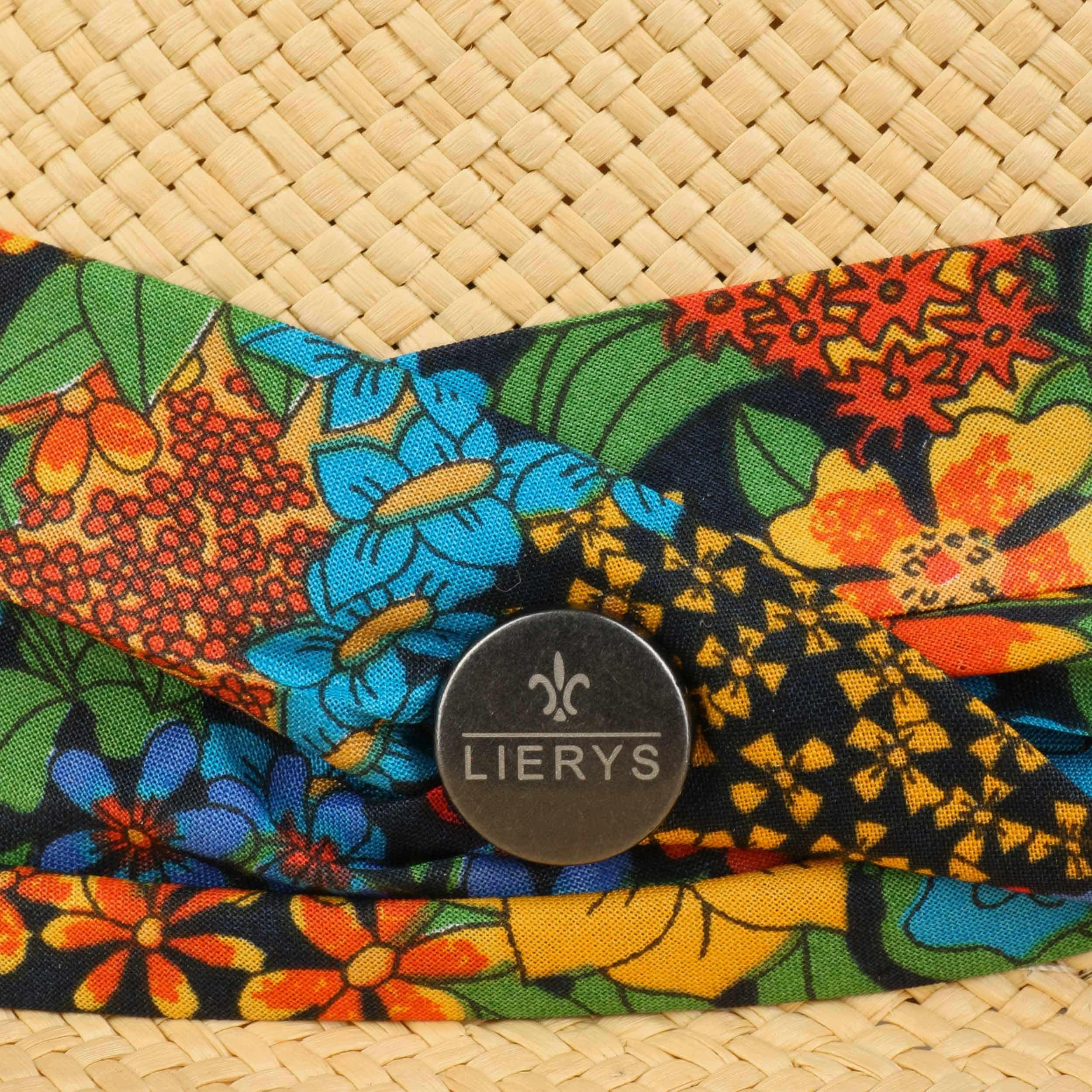 87381905e799f ... Flower Holiday Panama Hat by Lierys - nature 3 ...