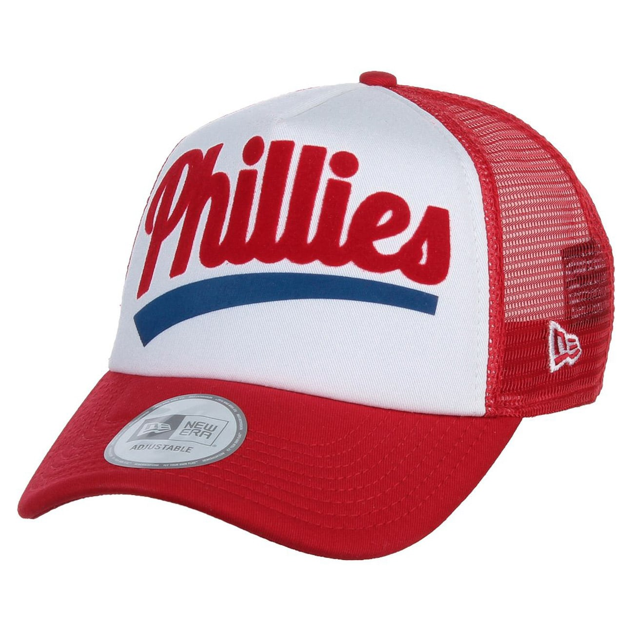 Fresh Phillies Trucker Cap by New Era - red 1 569ce09afbd