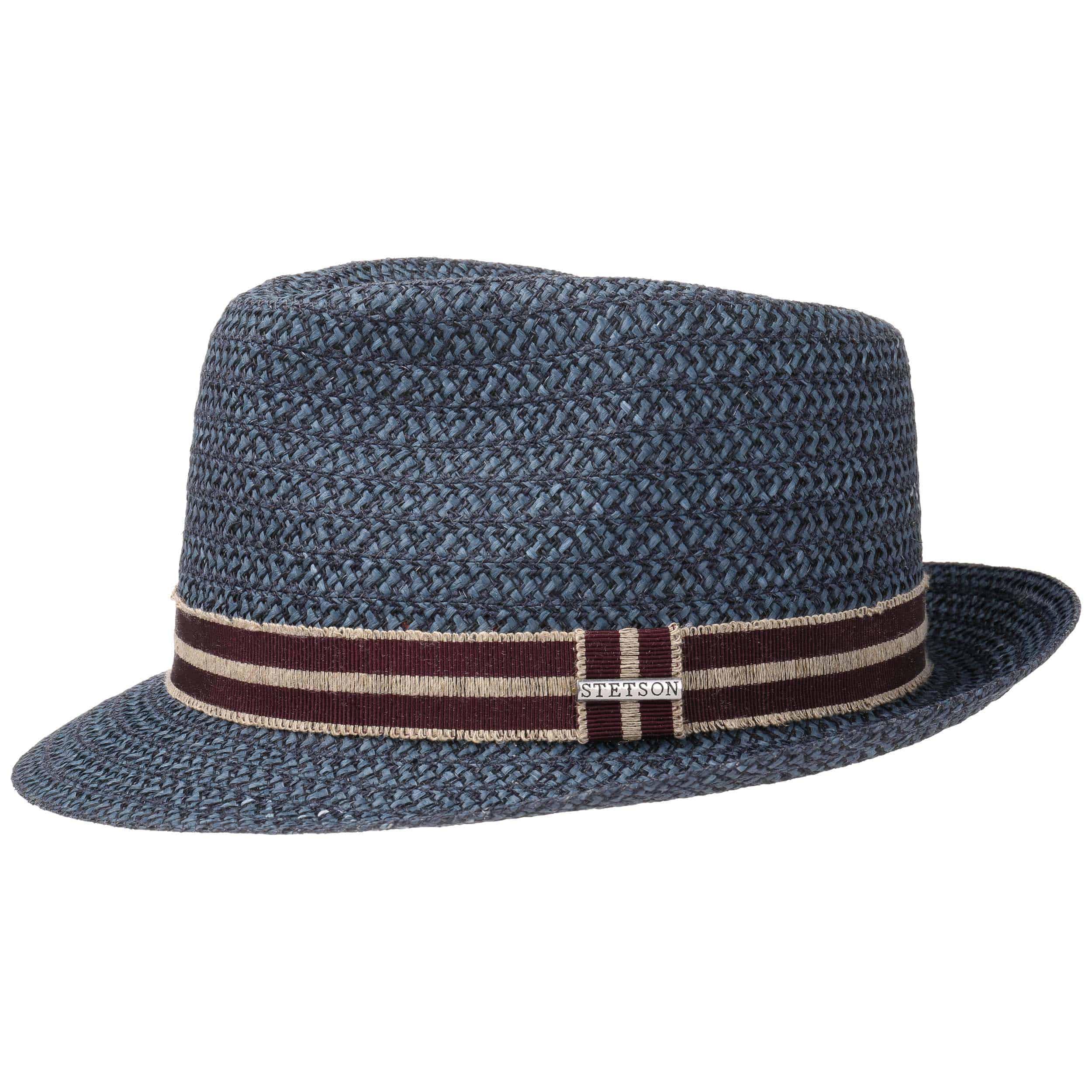 ... Fritch Fedora Hemp Hat by Stetson - blue 4 ... daed6fb50df