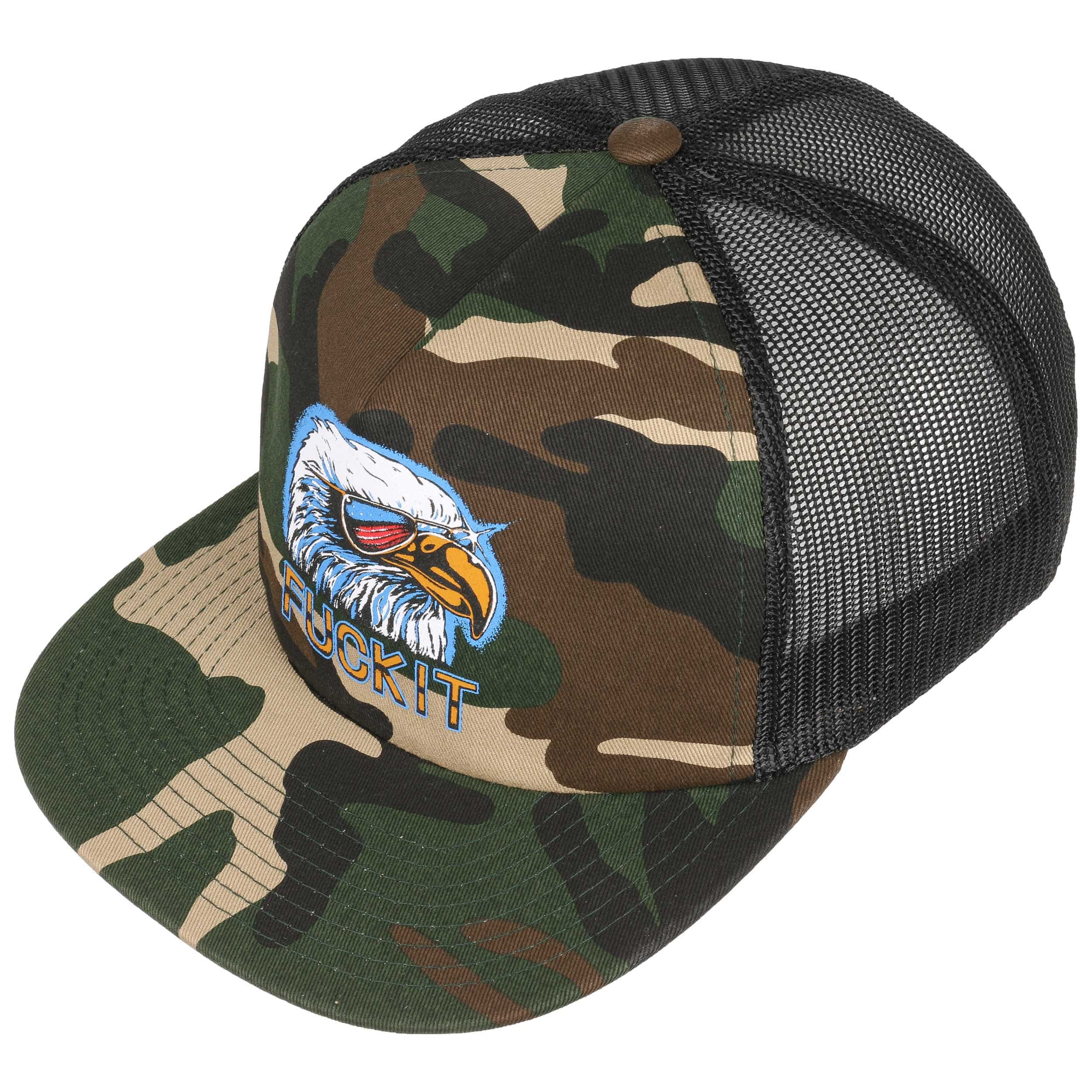 d97fdc534fe low price fuck it camo eagle trucker cap by huf 1 aae93 69d9d
