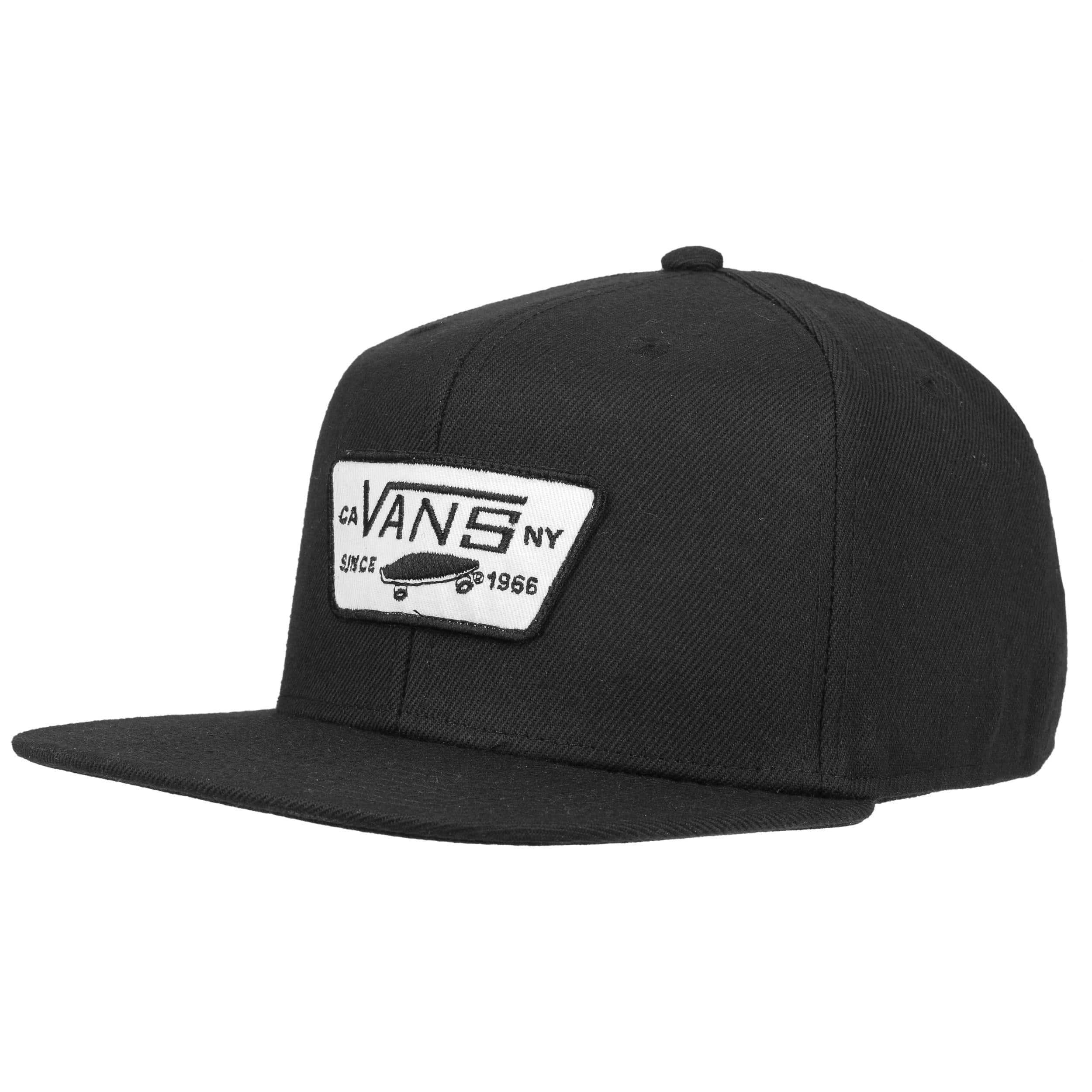 881a3ceb29 ... 4 · Full Patch 2017 Snapback Cap by Vans - black-white 5 ...