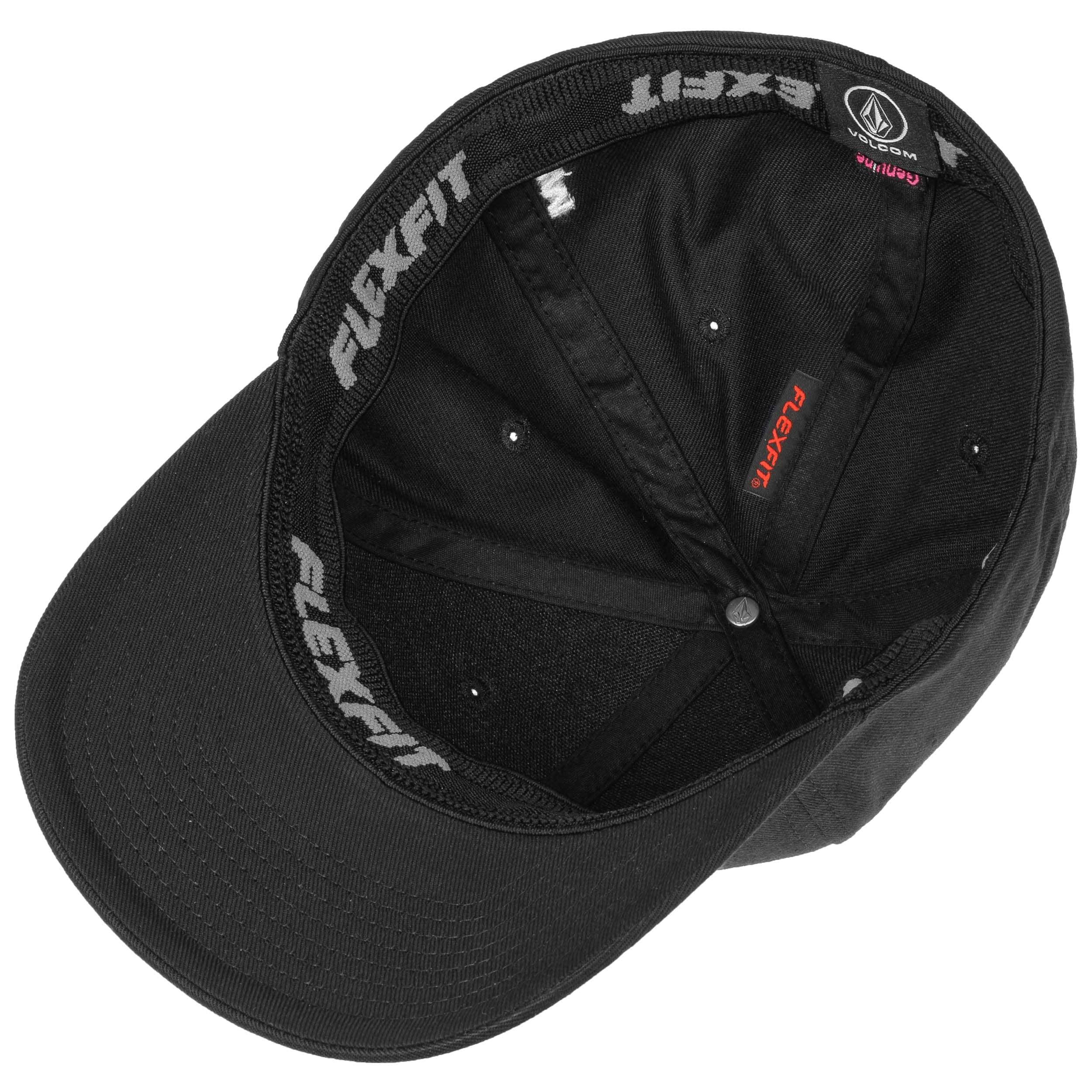 ... Full Stone Flexfit Cap by Volcom - black 2 ... 0d6e883dfc8b