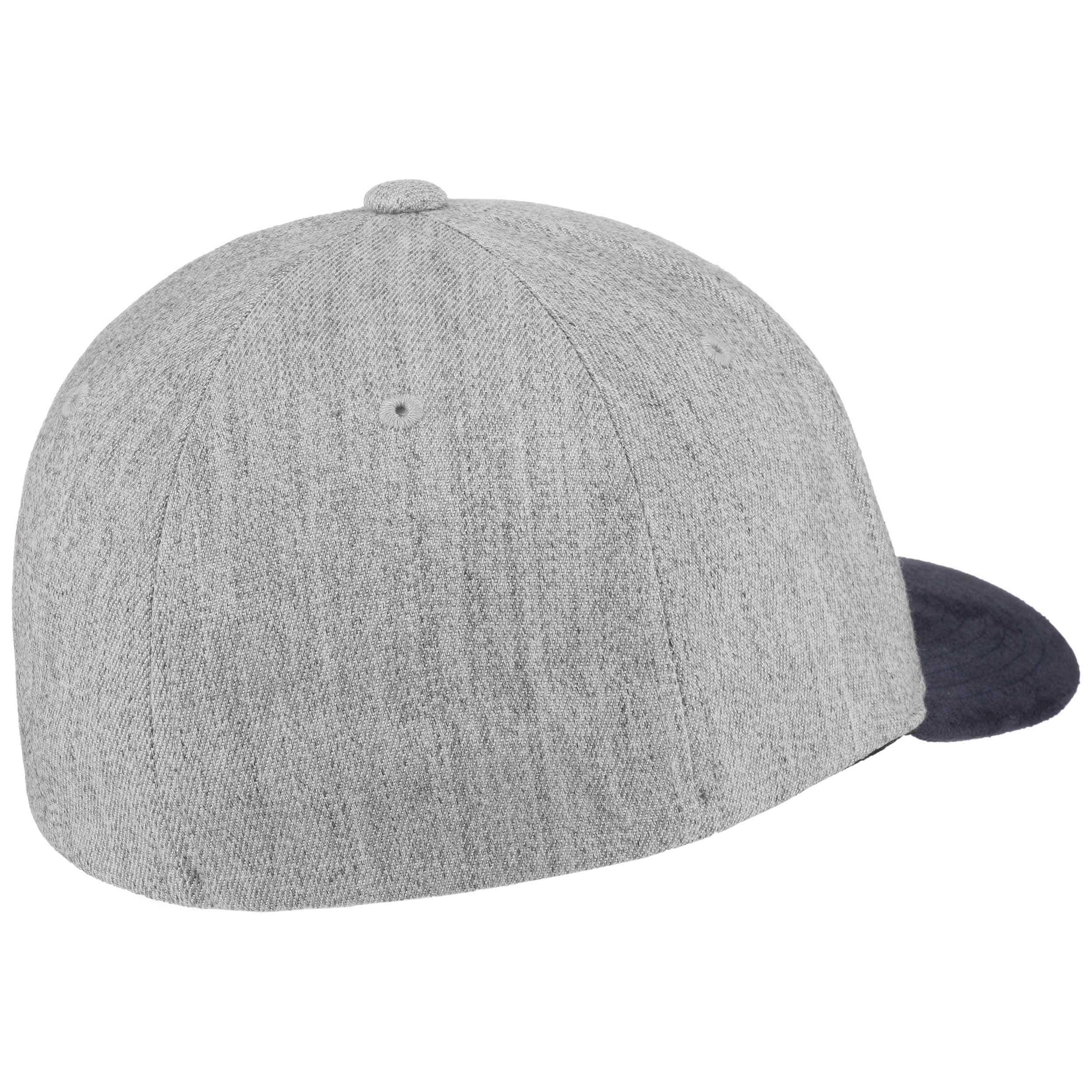 d8c782f26bd ... Full Stone Heather X Fit Cap by Volcom - grey-blue 4 ...
