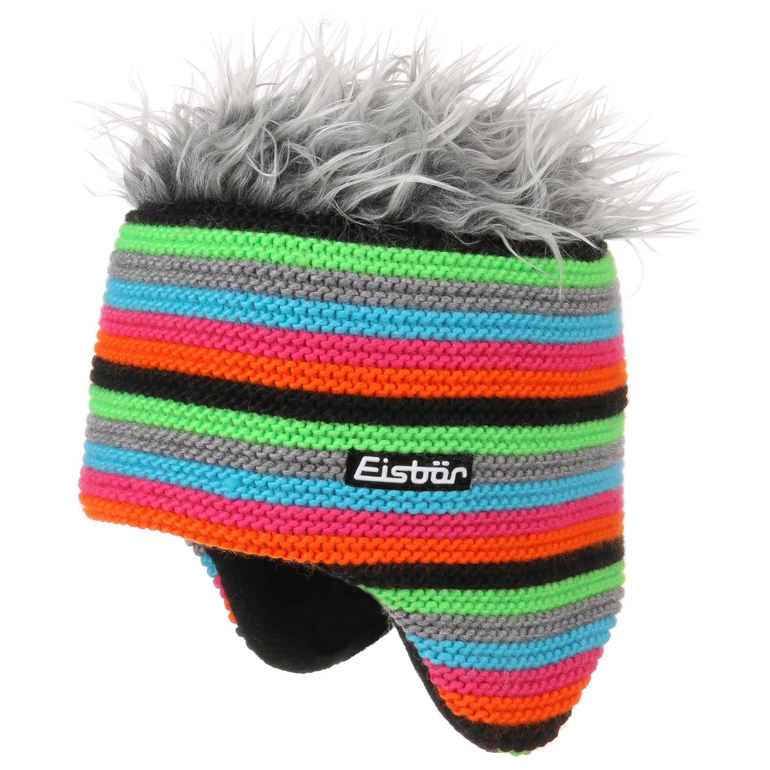 eeb96abbec4 ... Funky Cocker Knit Hat by Eisbär - black 4 ...