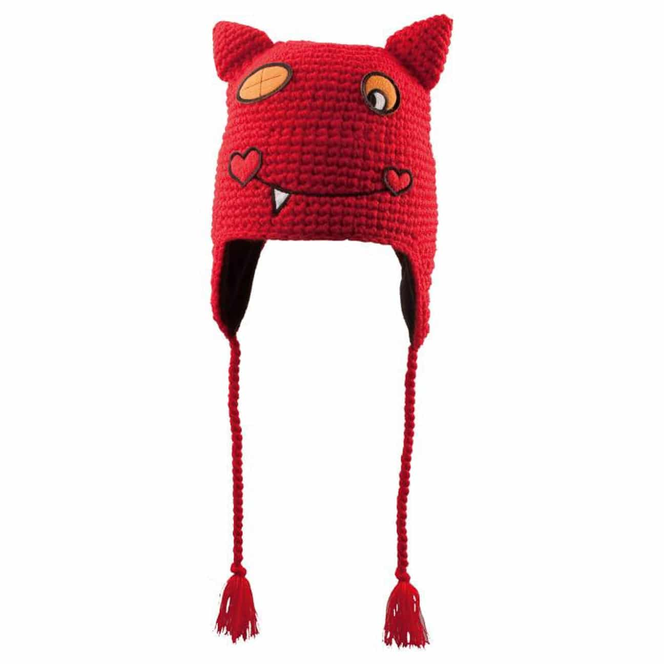 bb818fedcca ... Funny Monster Kids Hat by Chillouts - red 1 ...