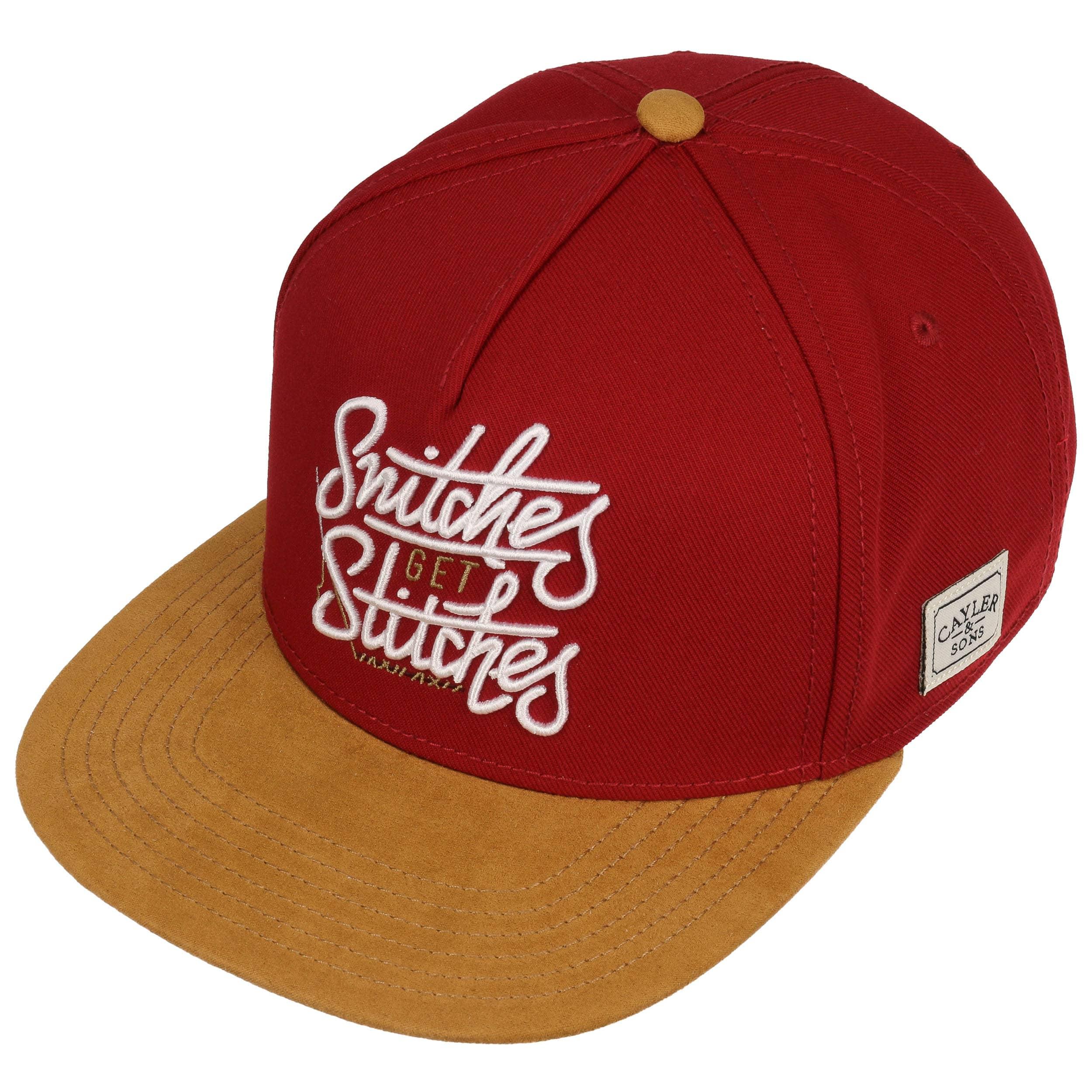 przedstawianie nowe tanie kup dobrze Get Stitches Snapback Cap by Cayler & Sons
