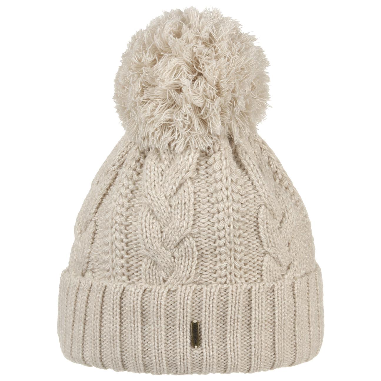 e8f50868b39 ... Giant Bobble Hat by McBURN - beige 1 ...