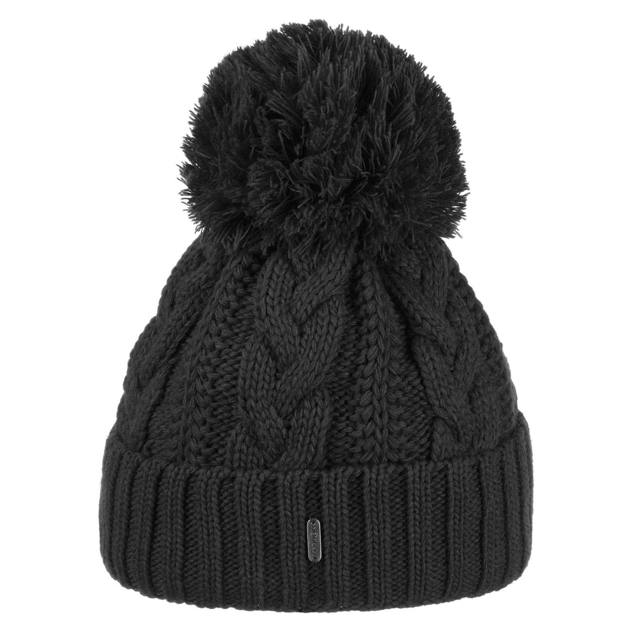 ... Giant Bobble Hat by McBURN - black 1 ... eede414619f