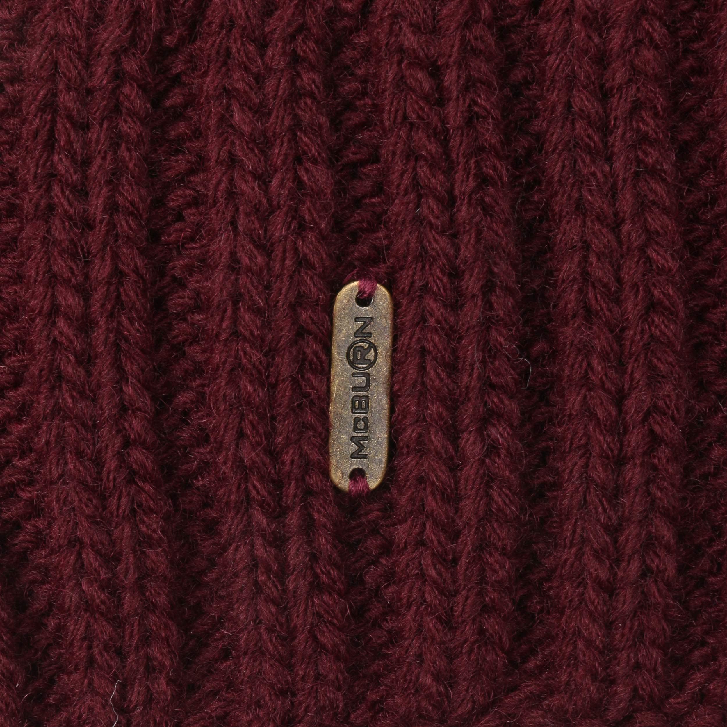 87cb4bd7346 ... Giant Bobble Hat by McBURN - bordeaux 1 ...