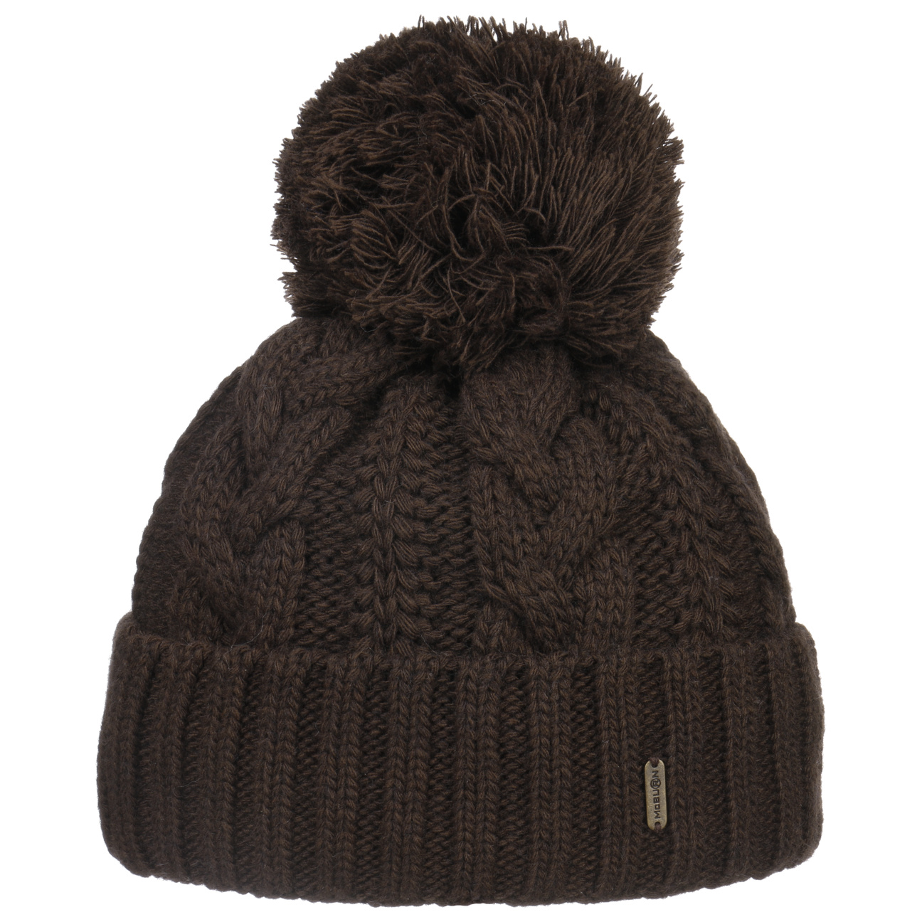 928a34c36c4d9b ... Giant Bobble Hat by McBURN - brown 1 ...