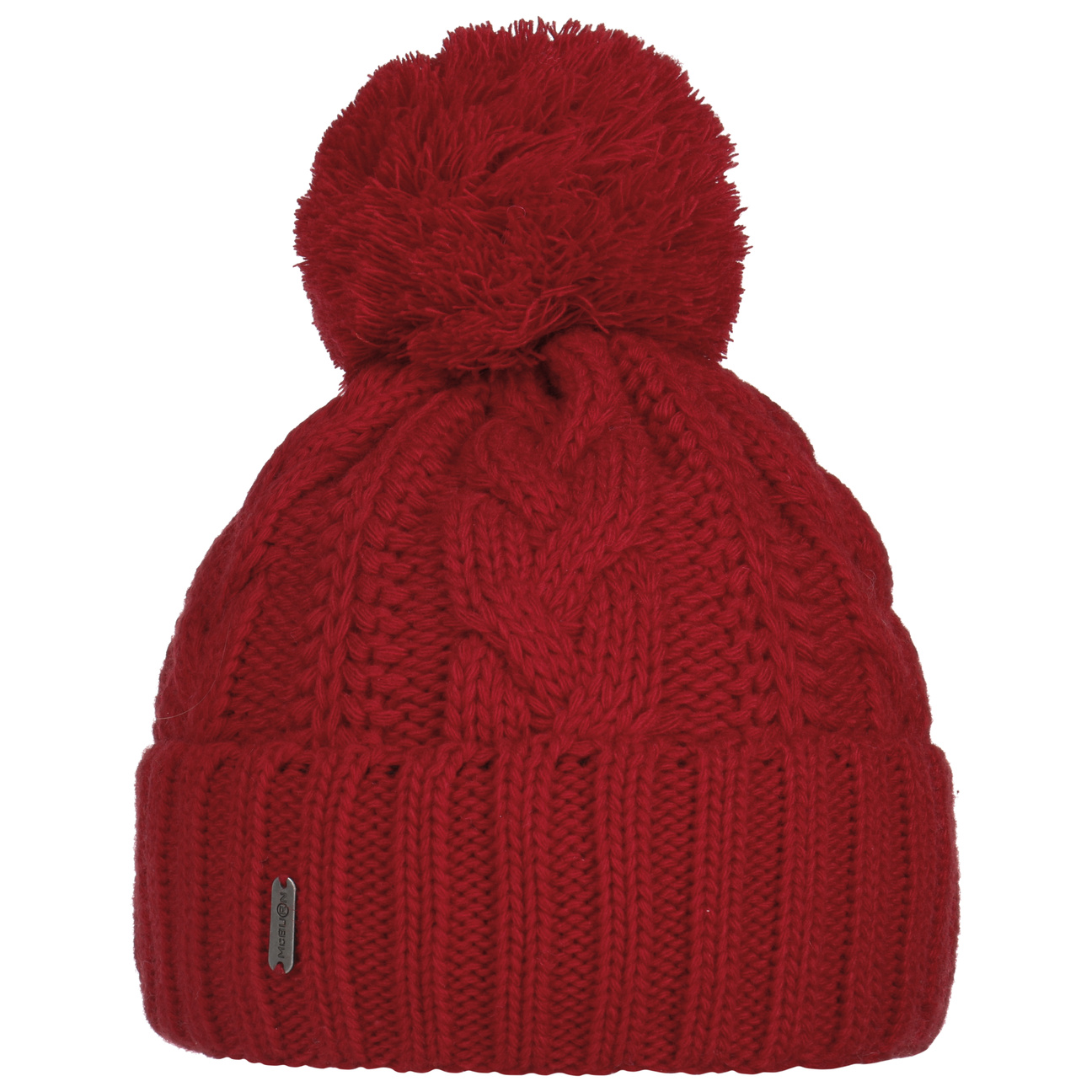 ... Giant Bobble Hat by McBURN - red 1 ... aeaa6f3635e