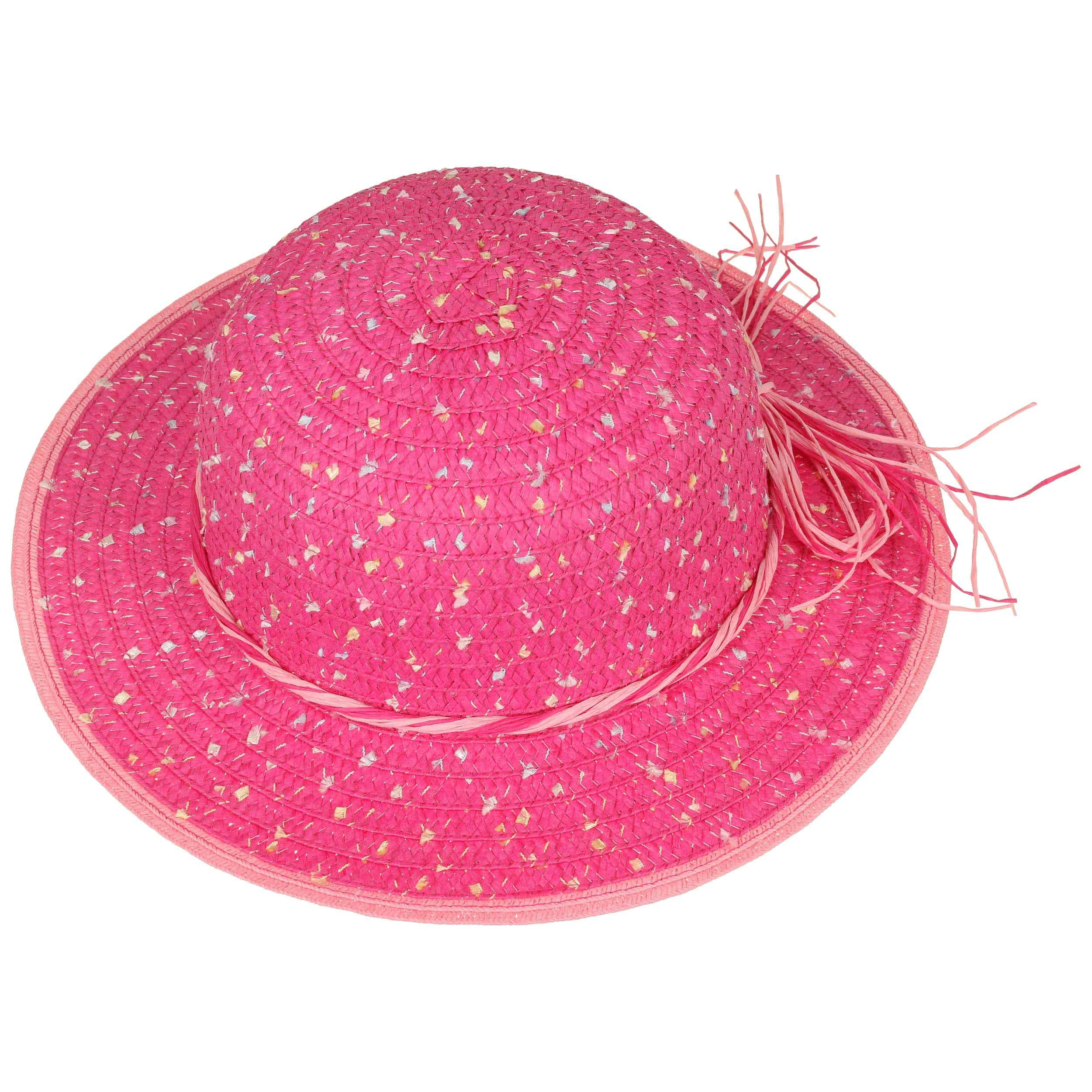 girly colour dots straw hat by maximo 1