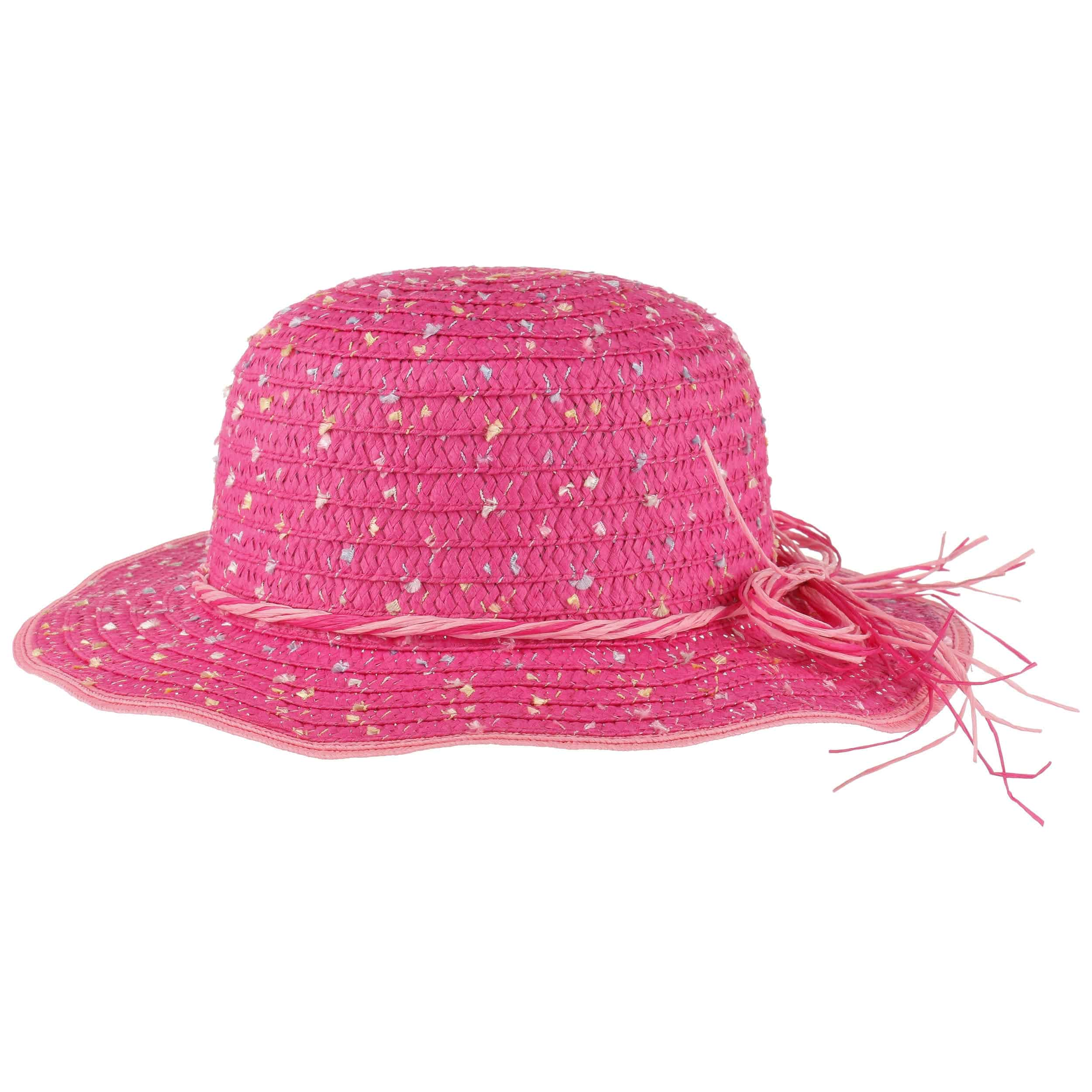 girly colour dots straw hat by maximo 5