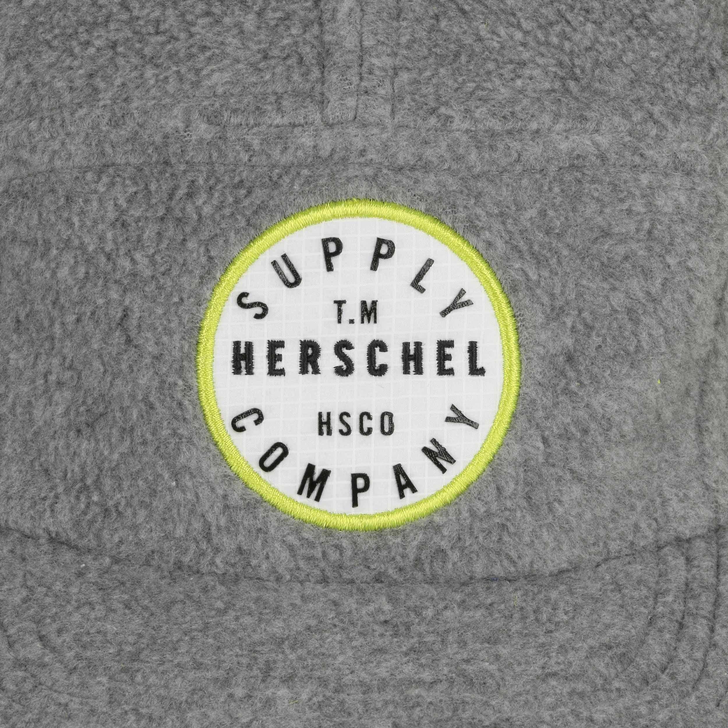 8fe213acc4f66b ... Glendale Polar Fleece Cap by Herschel - black 4 ...
