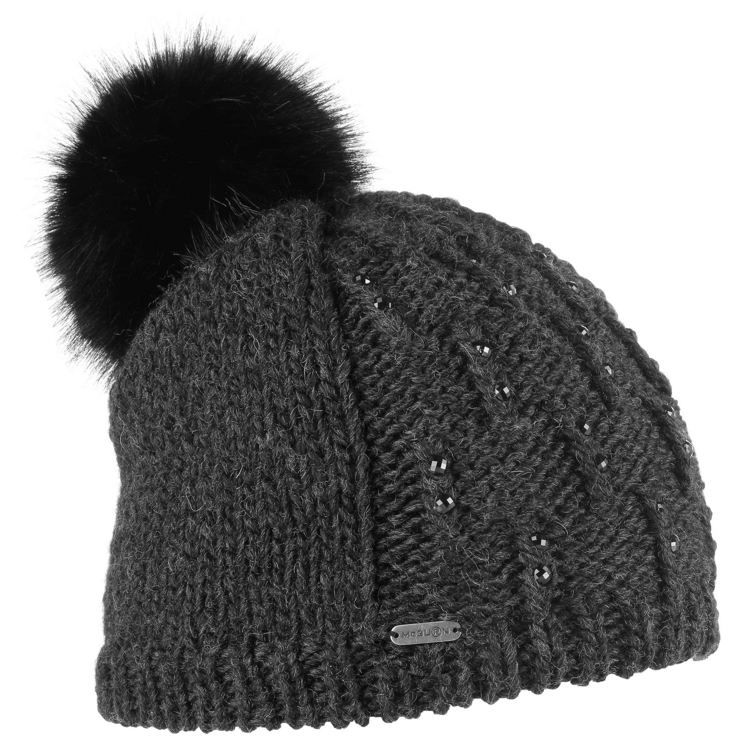 31c3d78a690b2 ... Glitter Beanie Pompom Hat by McBURN - 1
