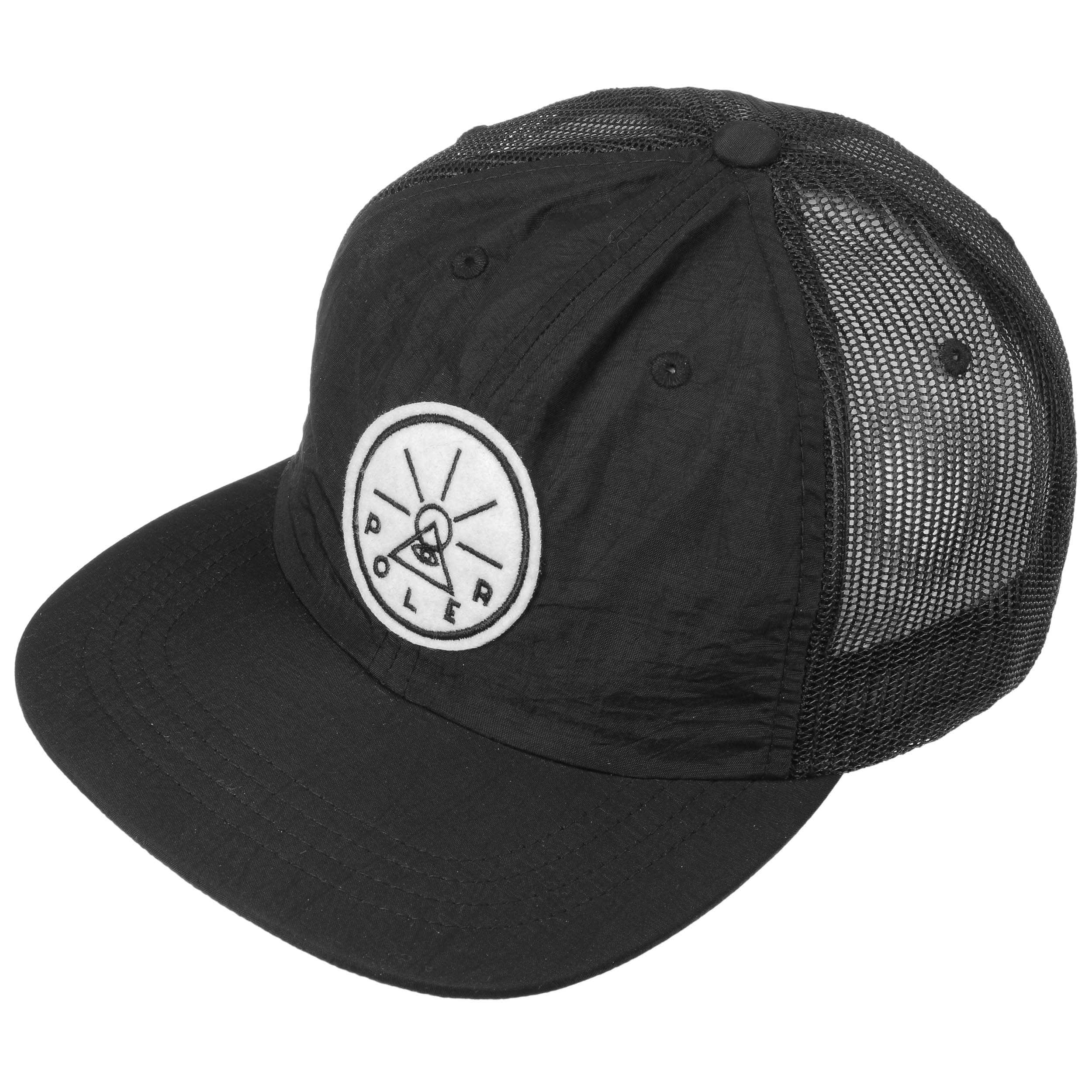 ... Golden Circle Trucker Cap by Poler - black 1 ... 7c6a004f583