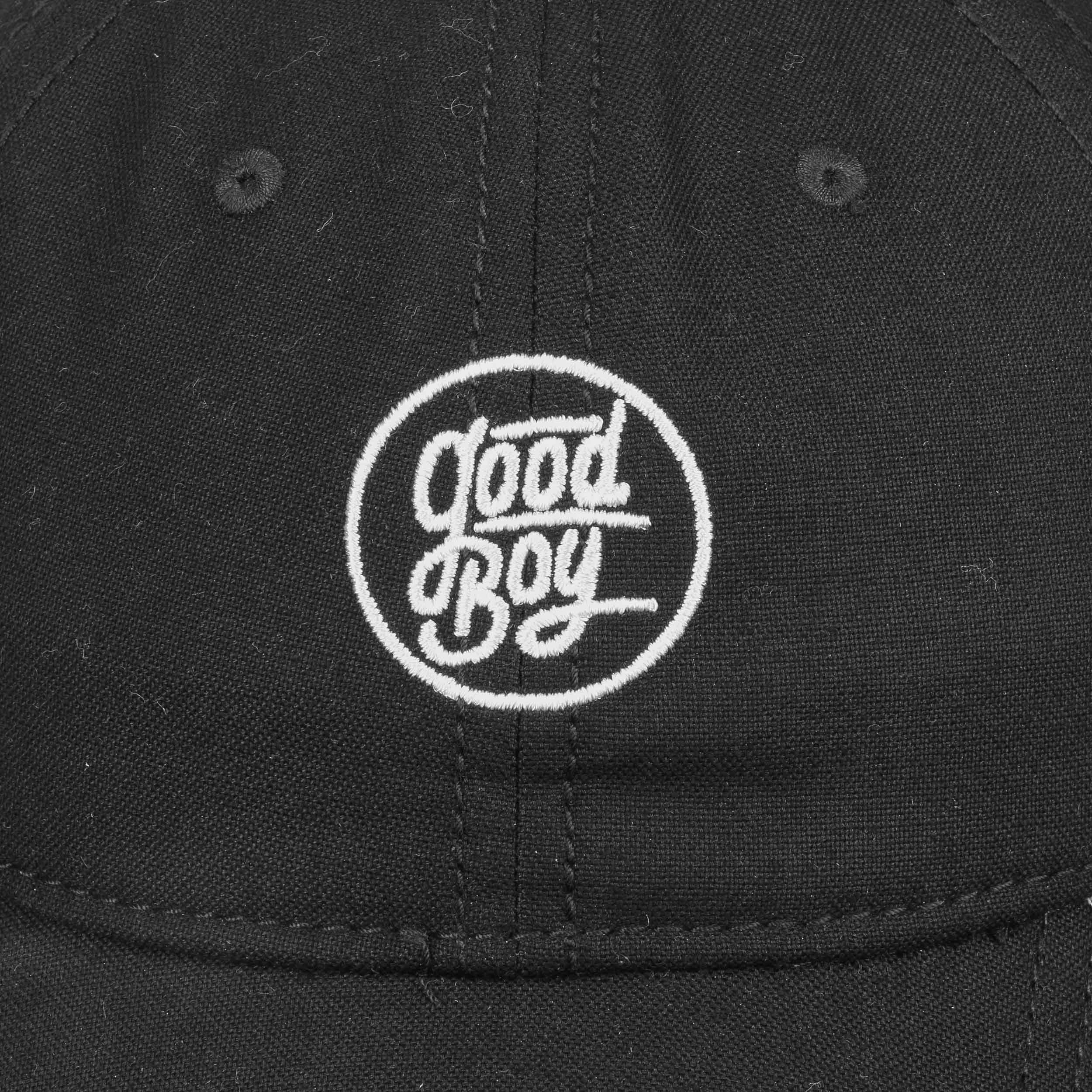 837fa7849aa ... Good Boy 6P CV Strapback Cap by Djinns - black 4 ...