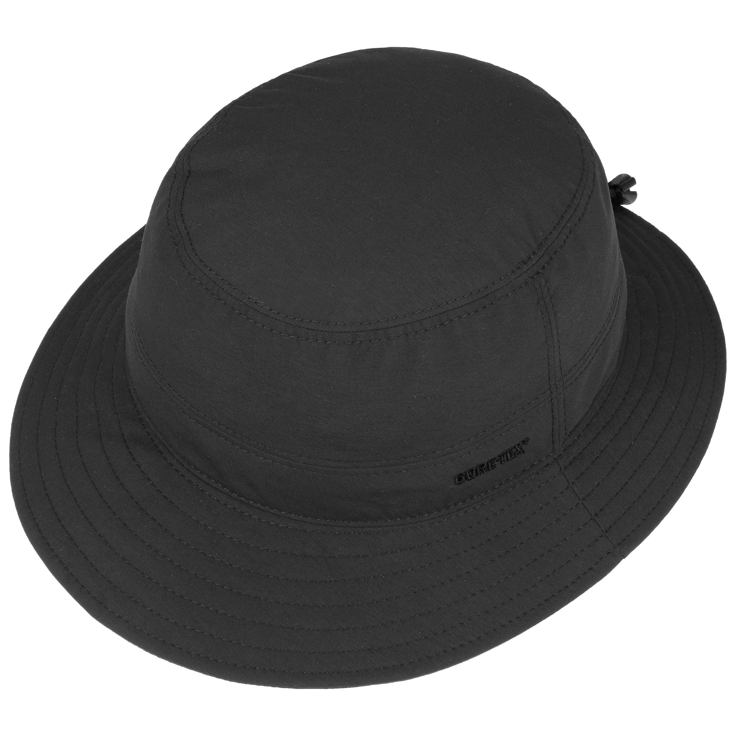 a68214bdeb20e ... Gore-Tex Bucket Rain Hat by Lierys - black 1 ...