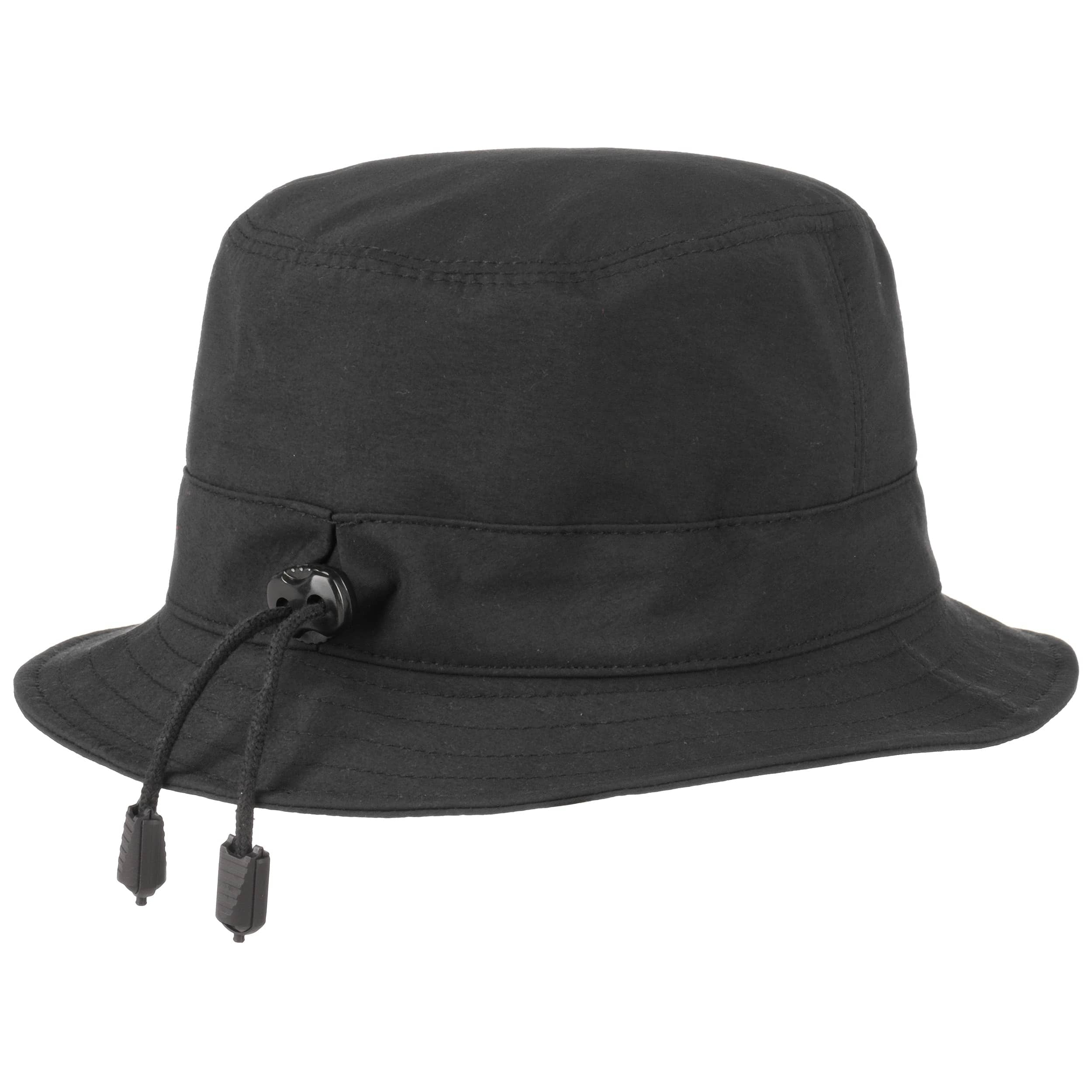 2441176dc0f ... Gore-Tex Light Rain Hat by Lierys - black 2 ...