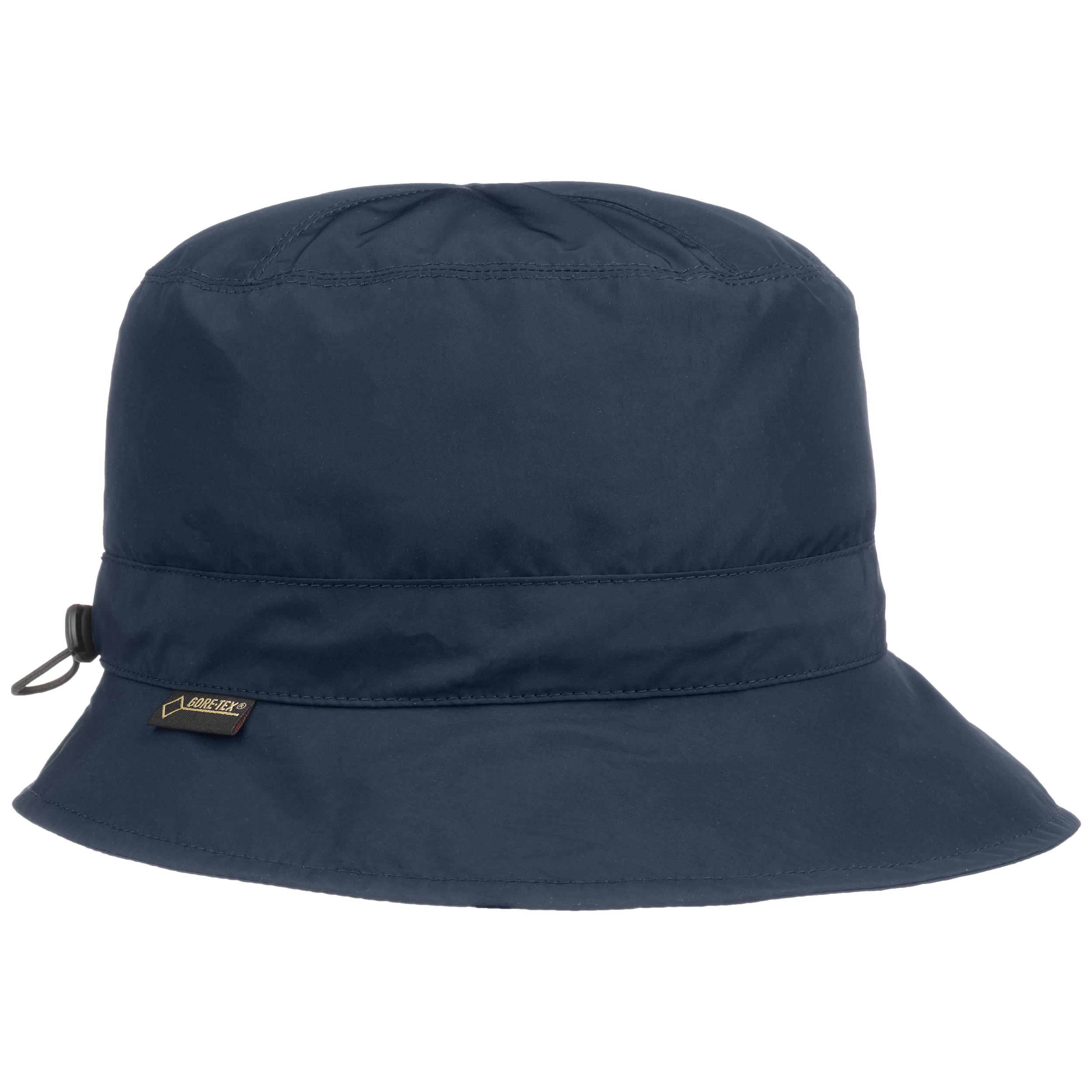 Seeberger Gore-Tex Regenhut mit Futter Fischerhut UV-Schutz Hut Outdoorhut Fleecefutter Stoffhut