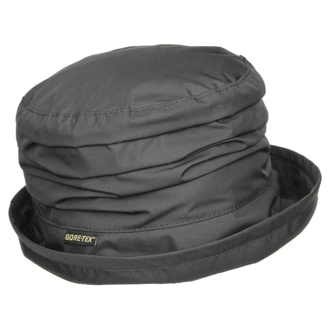 cc573a52884 Gore-Tex Rain Hat with Fleece by Seeberger - black 1